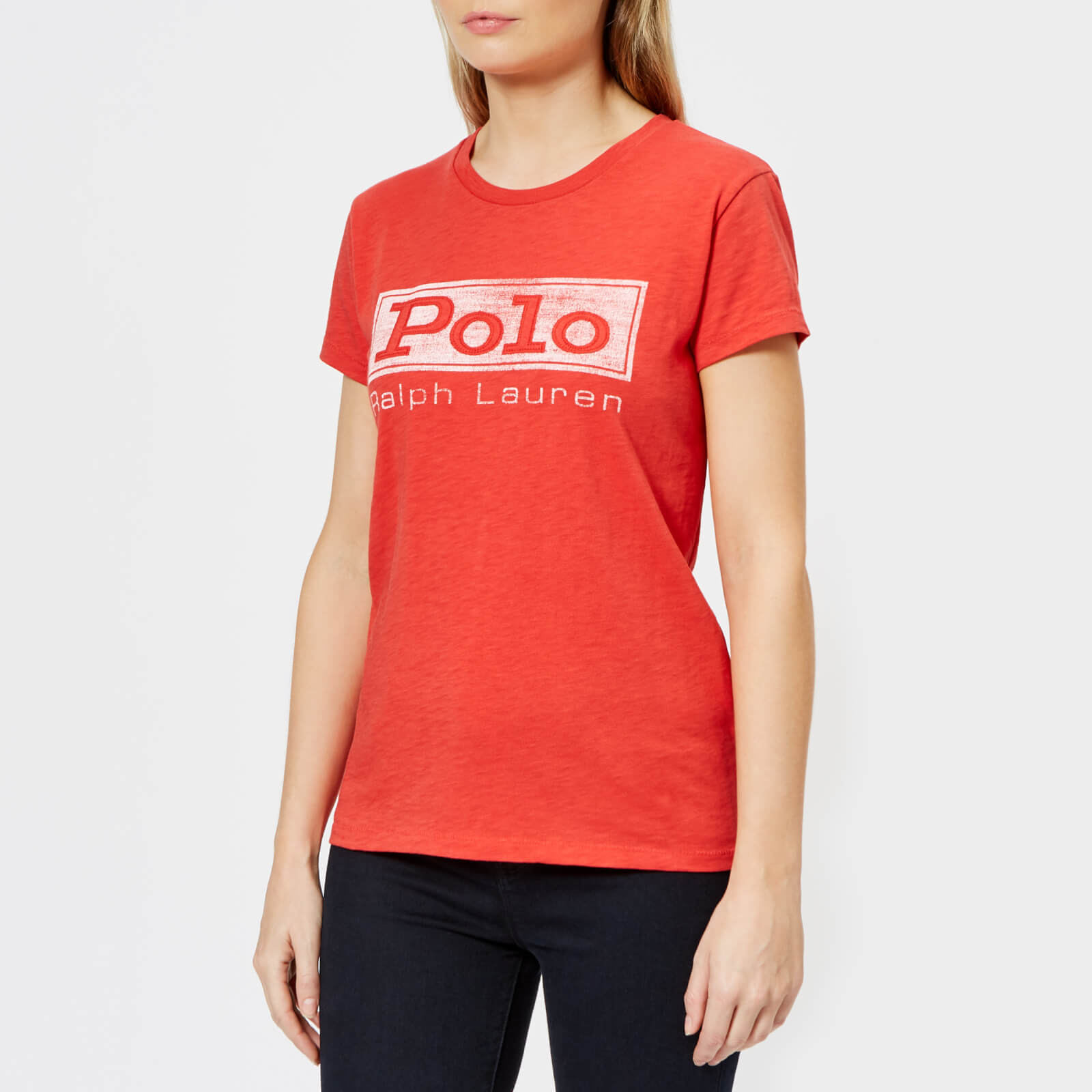 c33357fc88e Polo Ralph Lauren Women s Polo Logo T-Shirt - Red - Free UK Delivery over  £50