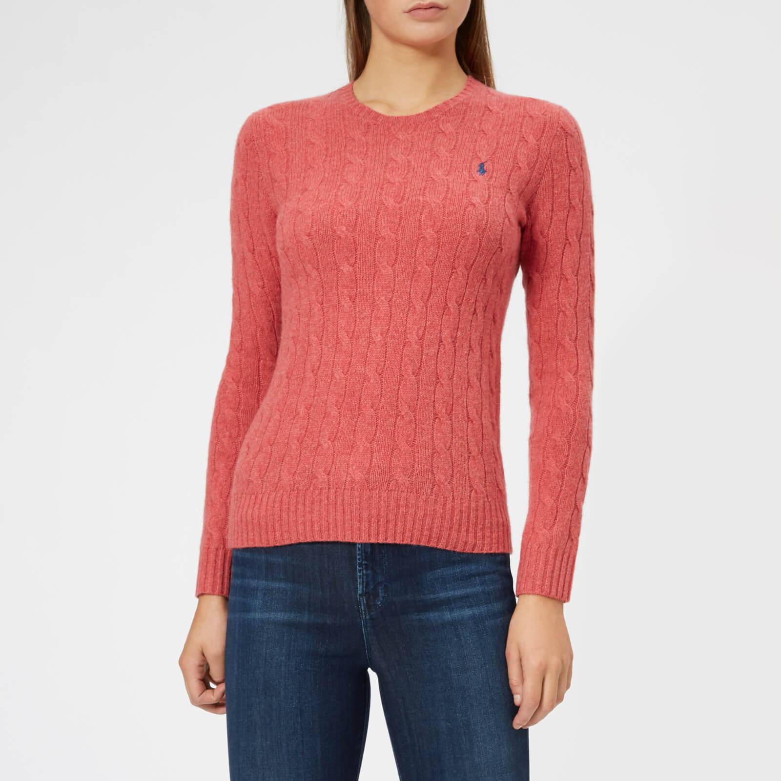 57fbdca49702 Polo Ralph Lauren Women's Julianna Jumper - Pink - Free UK Delivery over £50