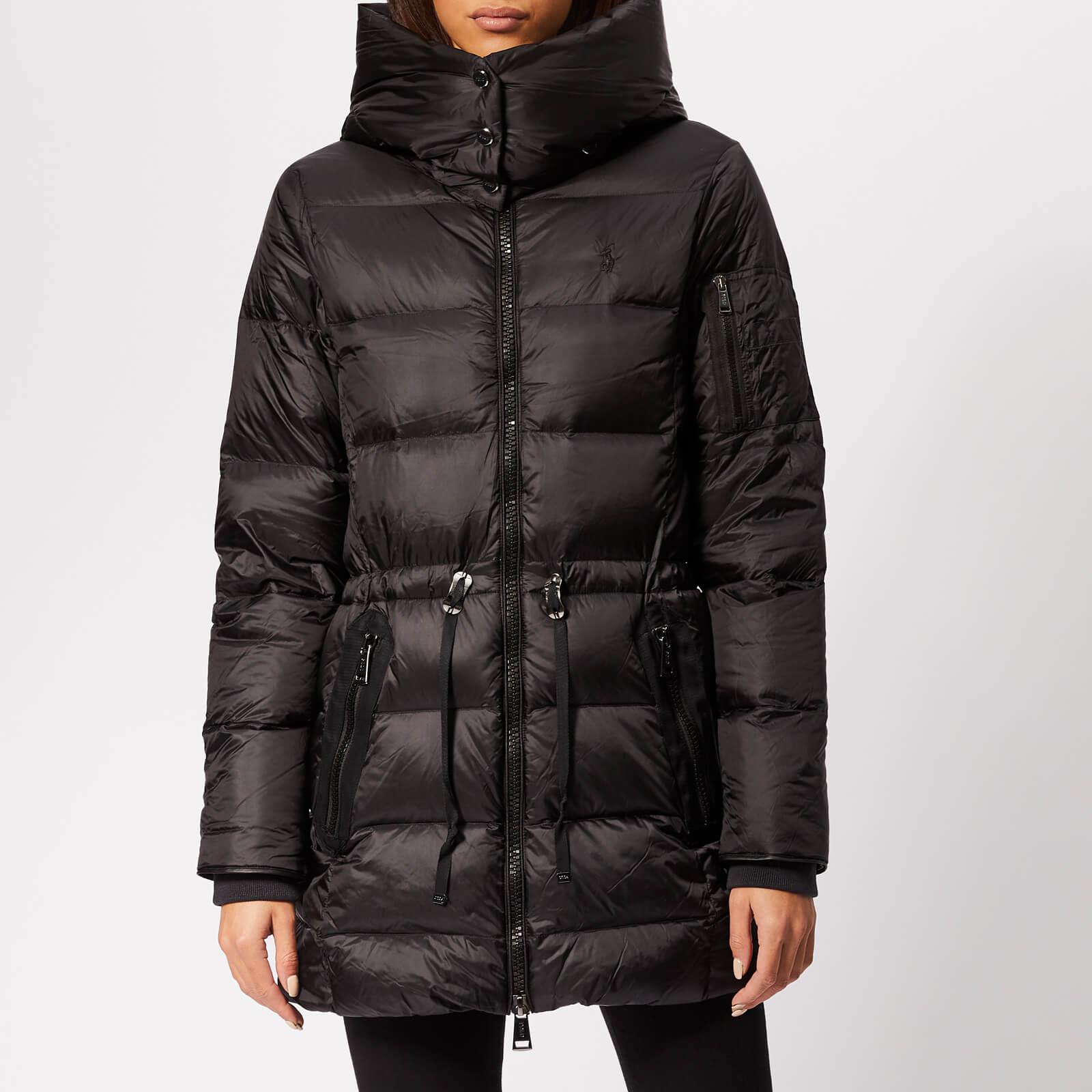 Long Polo Down Coat Black Ralph Lauren Women's SzMVUpq