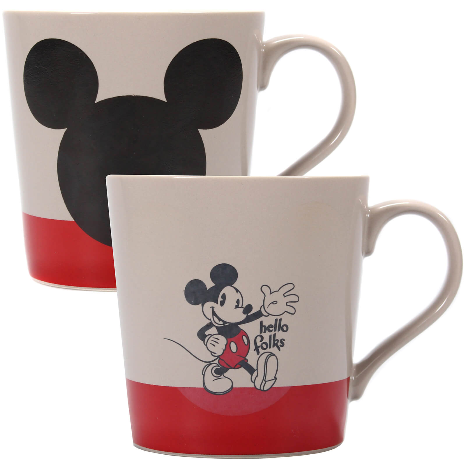 Mickey Mouse Heat Changing Mug
