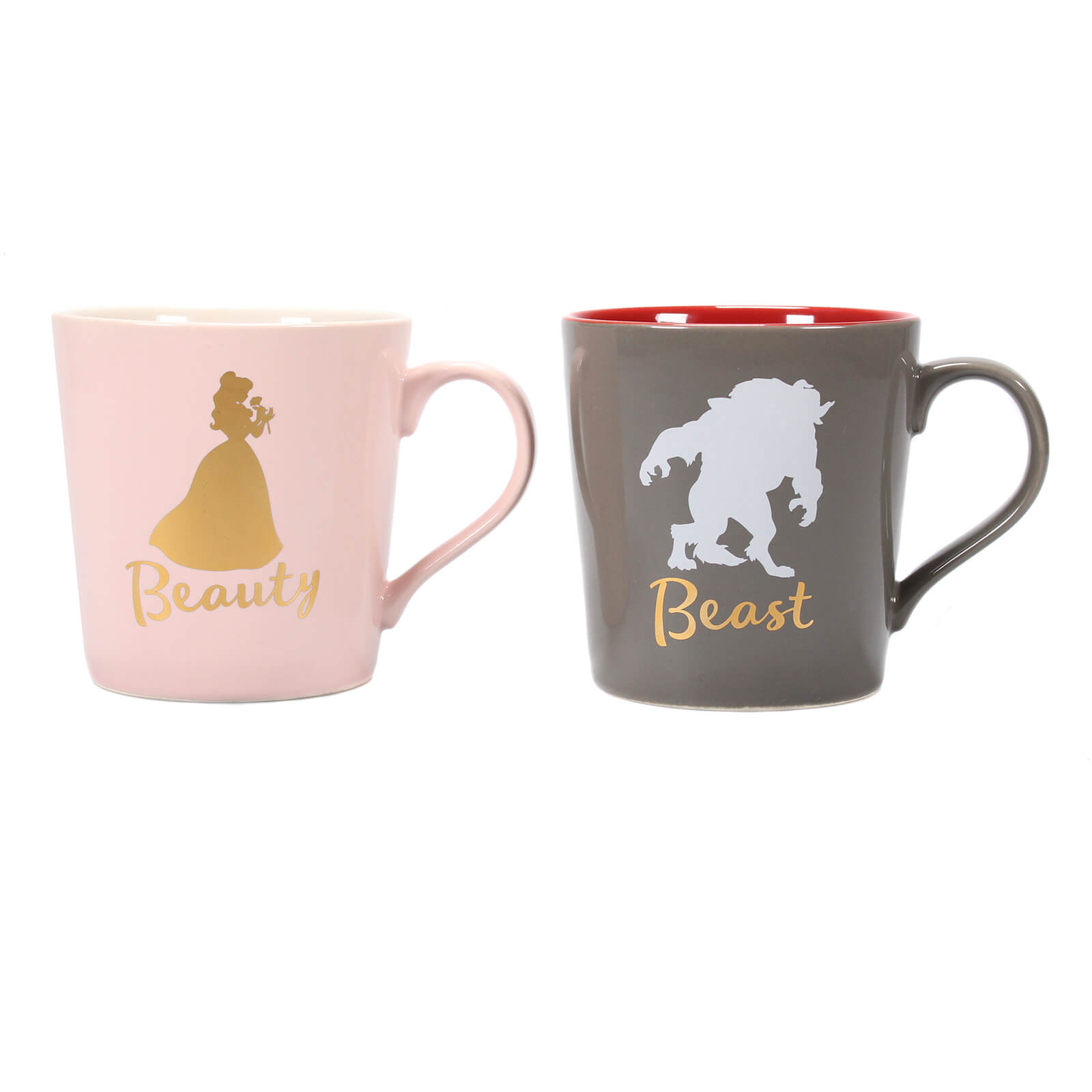 Beauty & The Beast Set of 2 Mugs