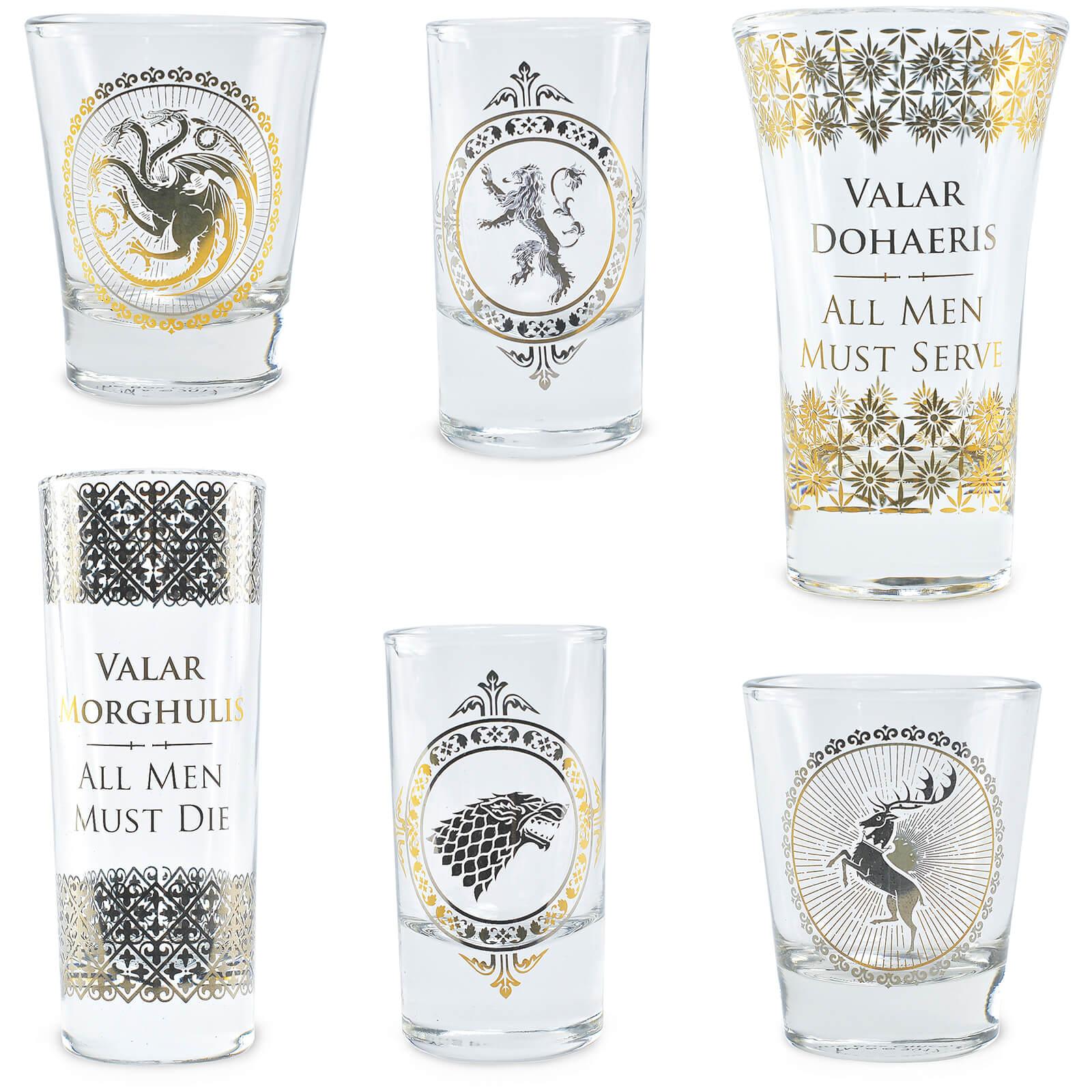 Game Of Thrones Premium Glass Set Traditional Gifts Zavvi Australia