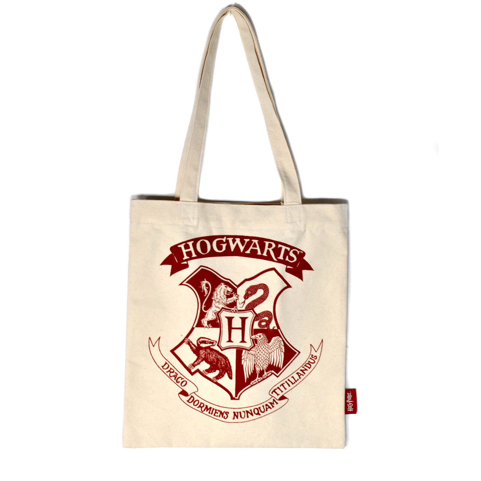 Harry Potter Shopper Bag (Hogwarts Crest One Colour)