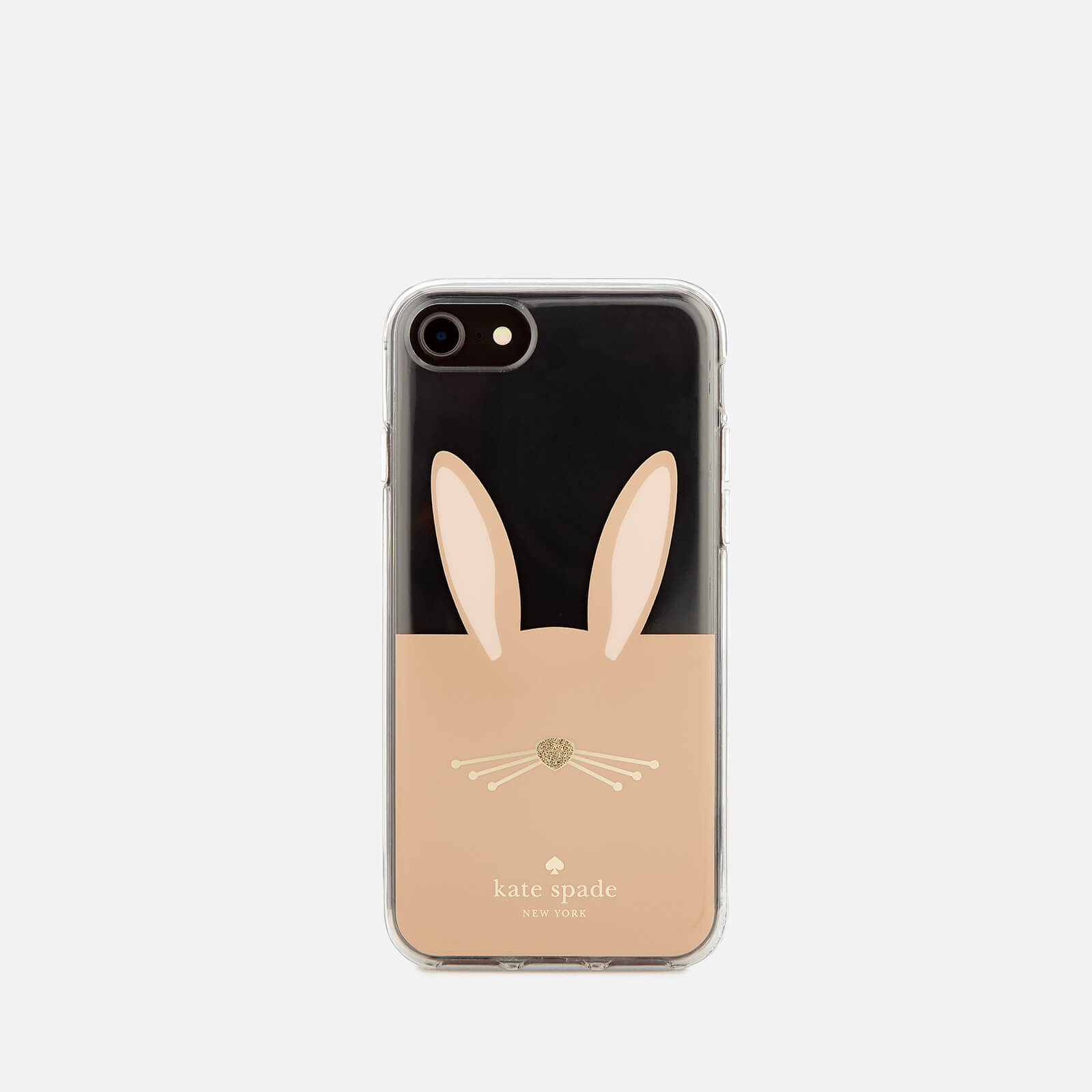 sale retailer 8e370 bee40 Kate Spade New York Women's Rabbit iPhone 8 Cover - Clear/Multi