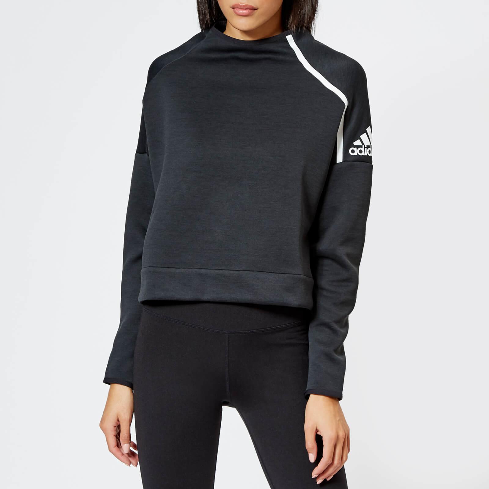 adidas crew neck sweatshirt womens