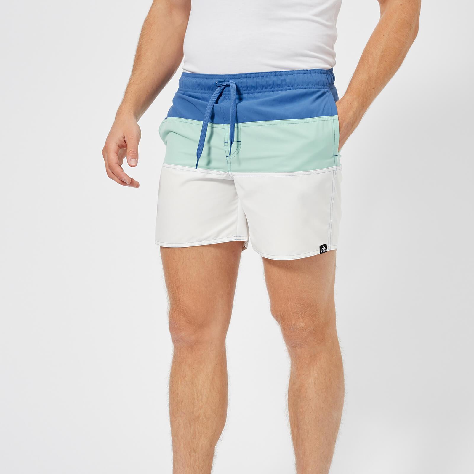 3eeae90ba9 adidas Men's Colour Block Swim Shorts - Multi Sports & Leisure | TheHut.com