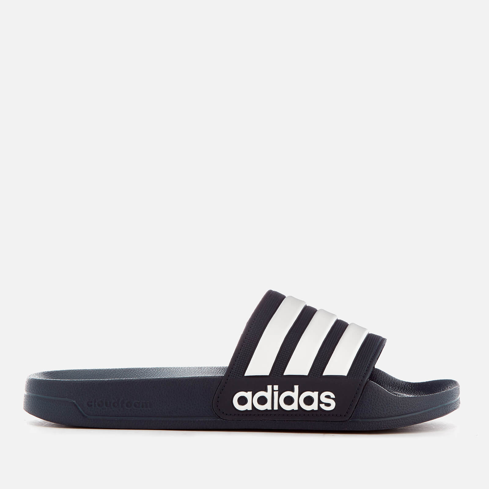 209c8449a36a adidas Men s Adilette Shower Slide Sandals - Collegiate Navy Sports    Leisure