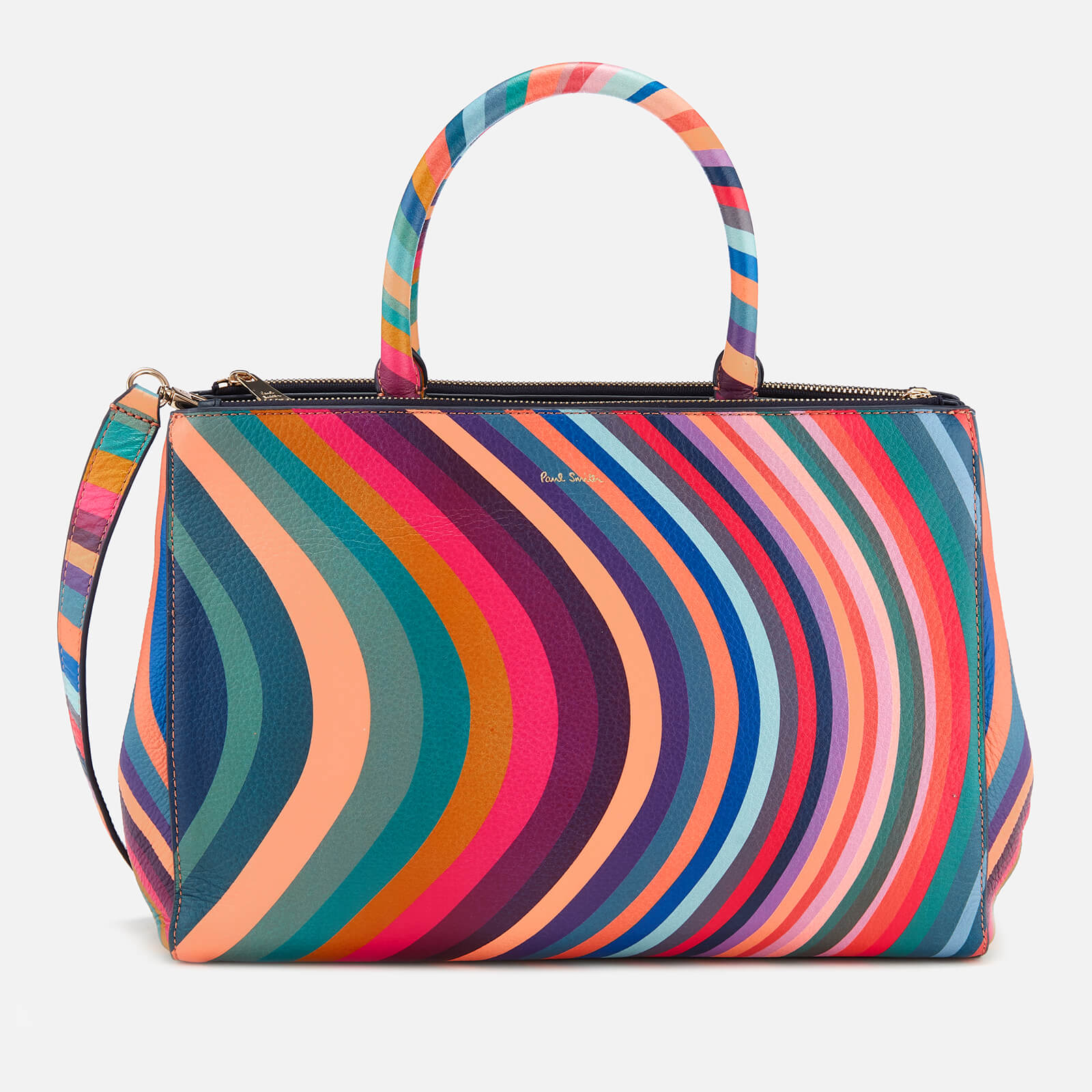 82a5dae12c97 Paul Smith Women s Double Zip Tote Bag - Multi - Free UK Delivery over £50