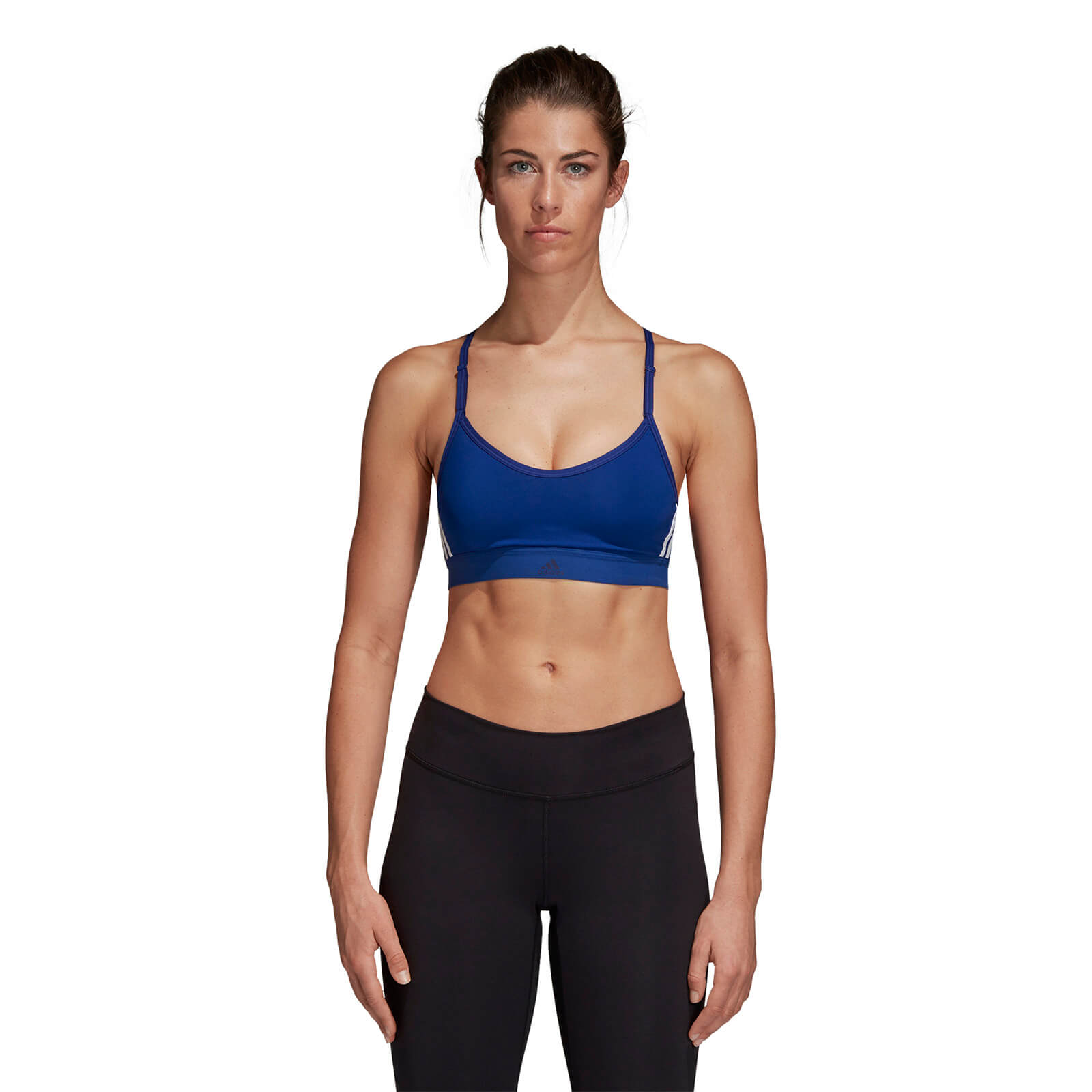 fd837e7539 adidas Women s 3 Stripe Sports Bra
