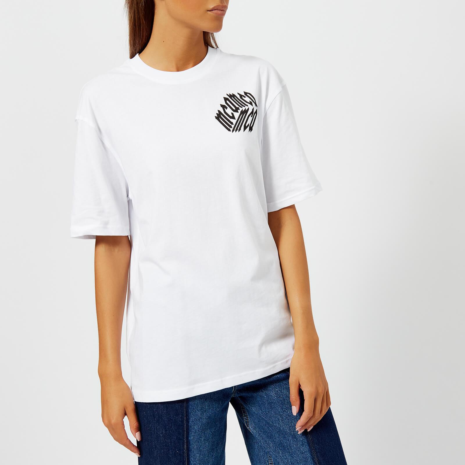 06e99bfb McQ Alexander McQueen Women's Boyfriend T-Shirt - Optic White - Free UK  Delivery over £50