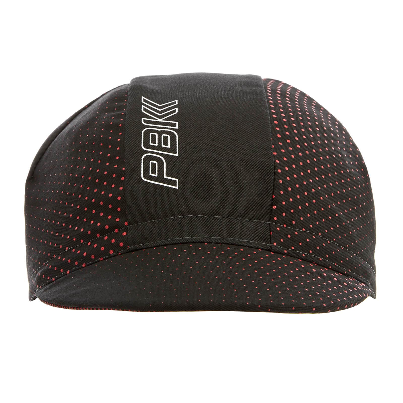 PBK Santini 19 Race Cotton Cap - Black Red  bf09905af