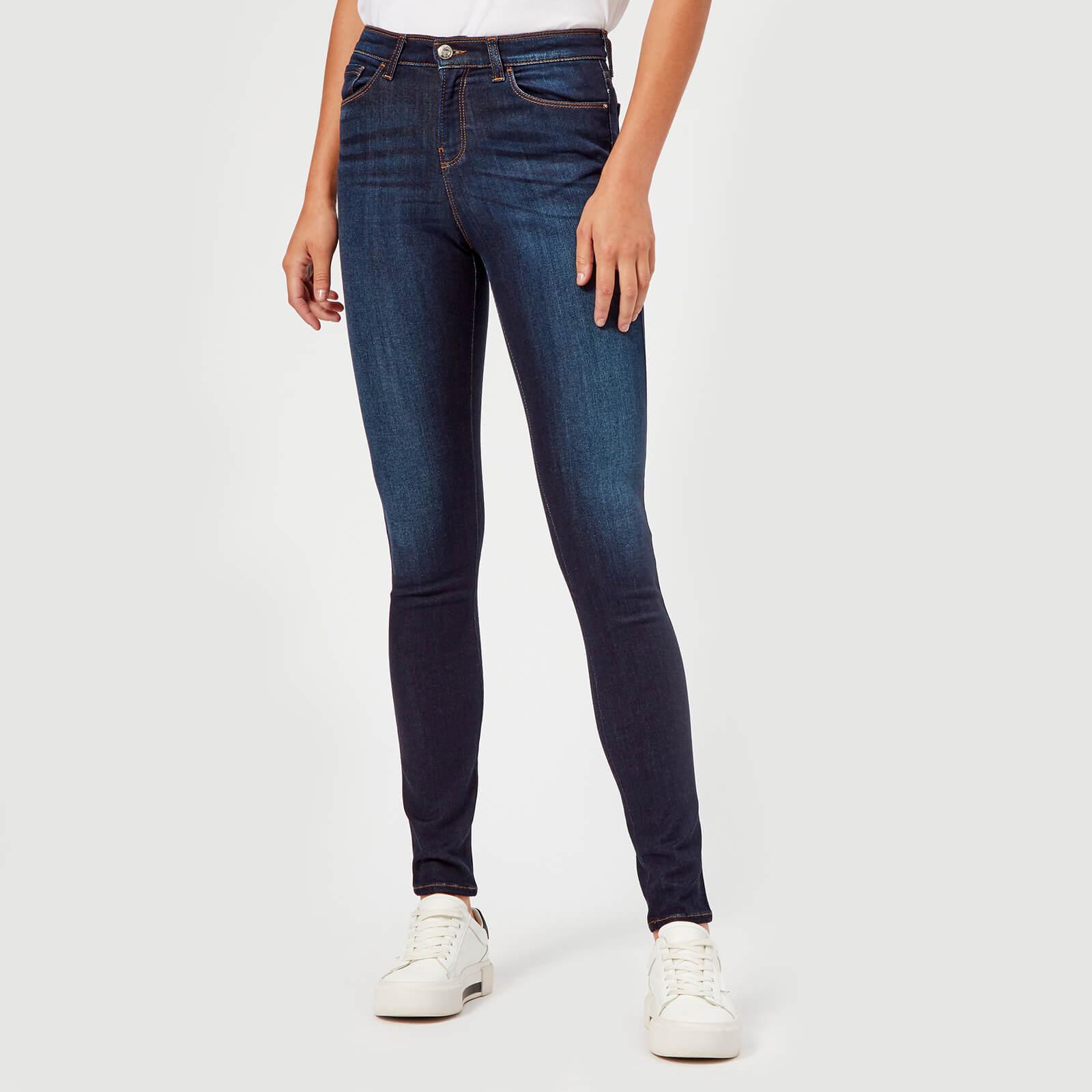 fe651f3570 Emporio Armani Women's J20 High Rise Jeans - Blue