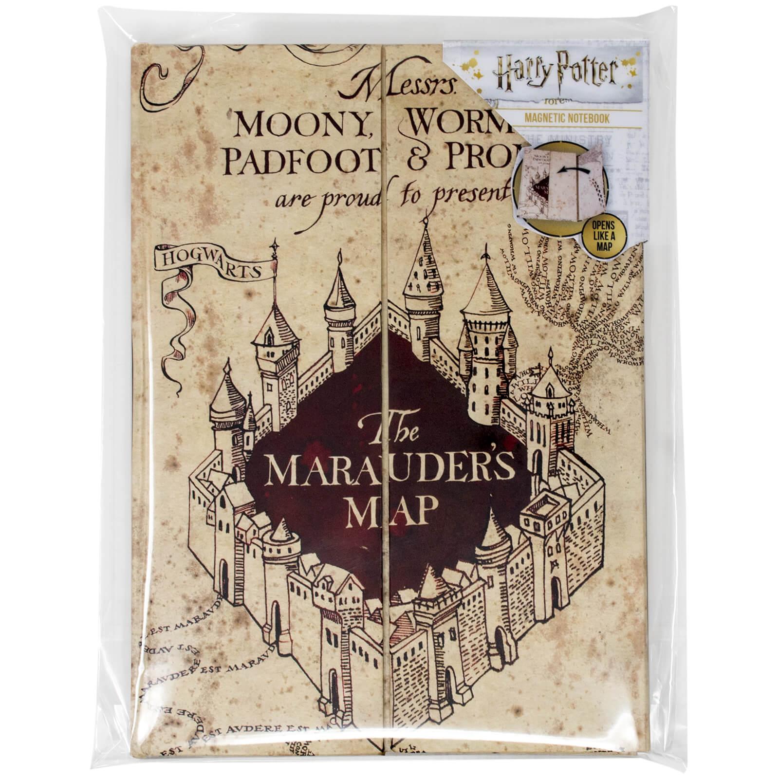 Karte Des Rumtreibers.Harry Potter Karte Des Rumtreibers A5 Notizbuch