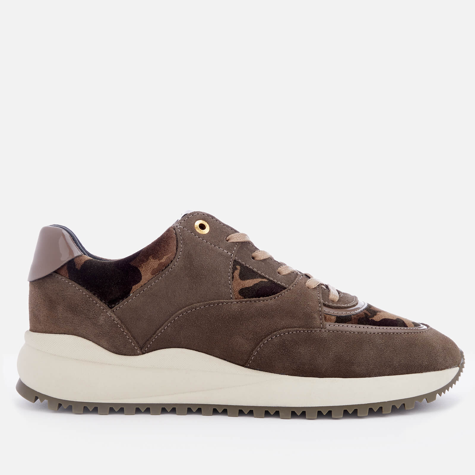 b2d8722a4d07 Android Homme Men s Belter 3.0 Suede Runner Style Trainers - Taupe - Free  UK Delivery over £50