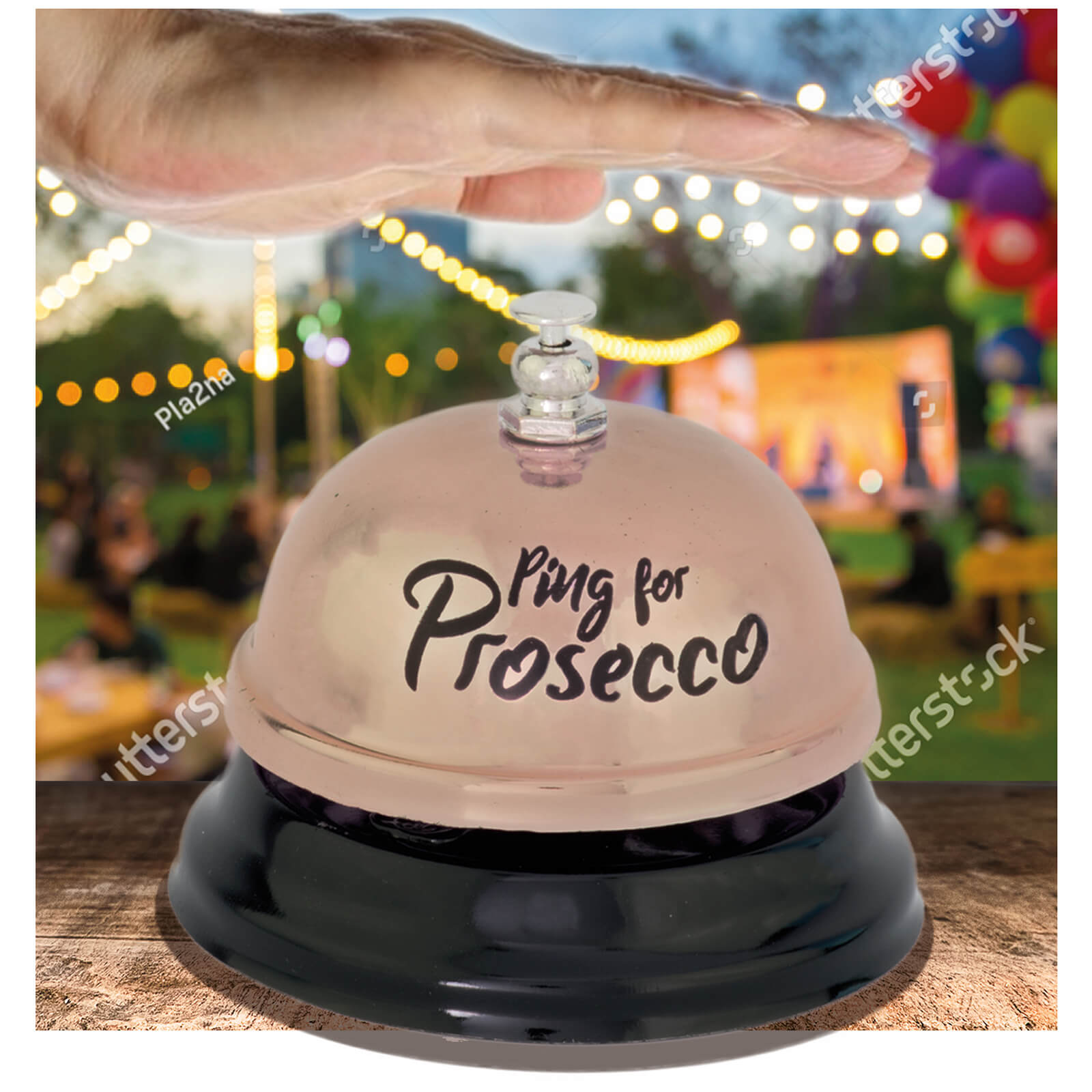 Ping for Prosecco Bell