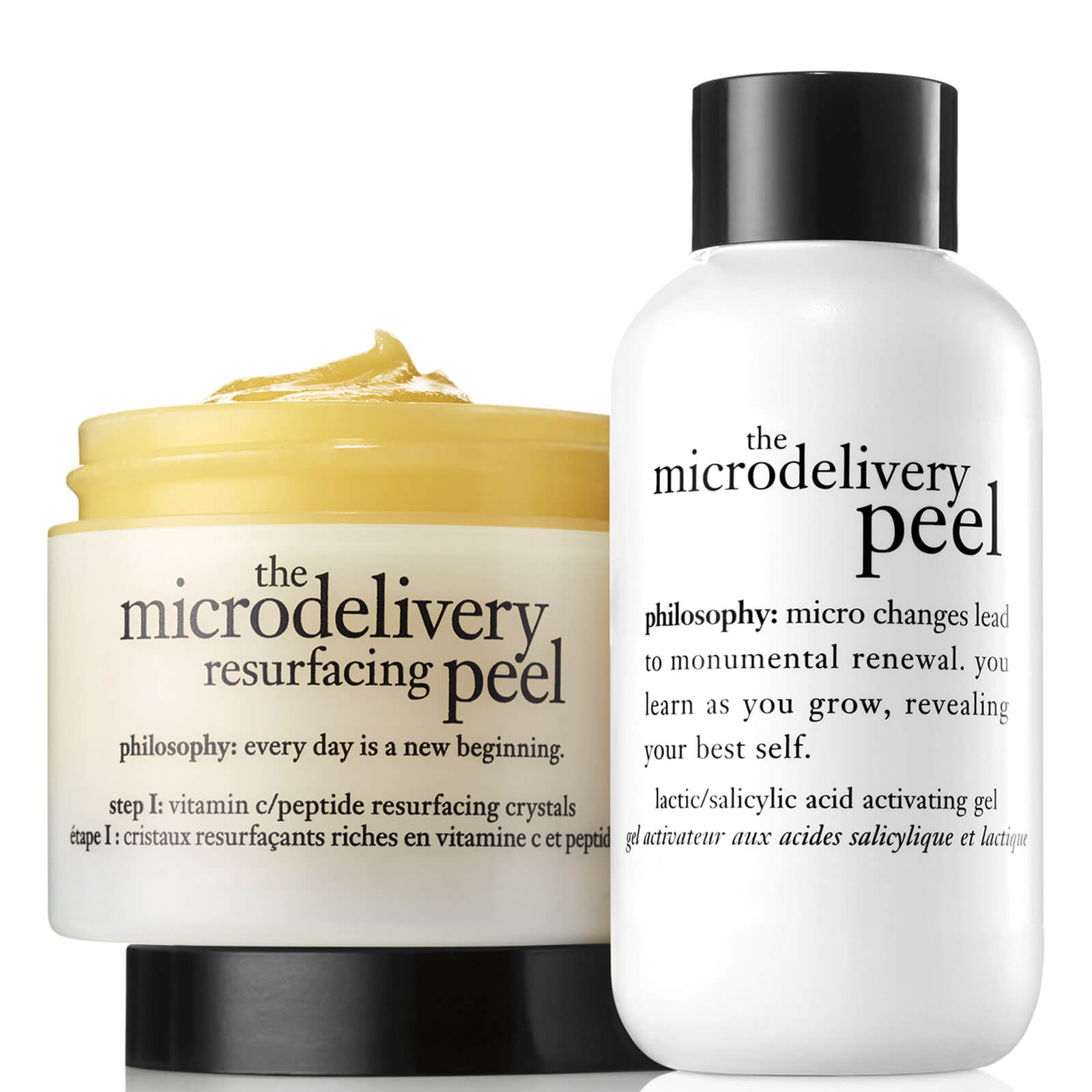 philosophy Microdelivery In-Home Vitamin C Peptide Peel 120ml