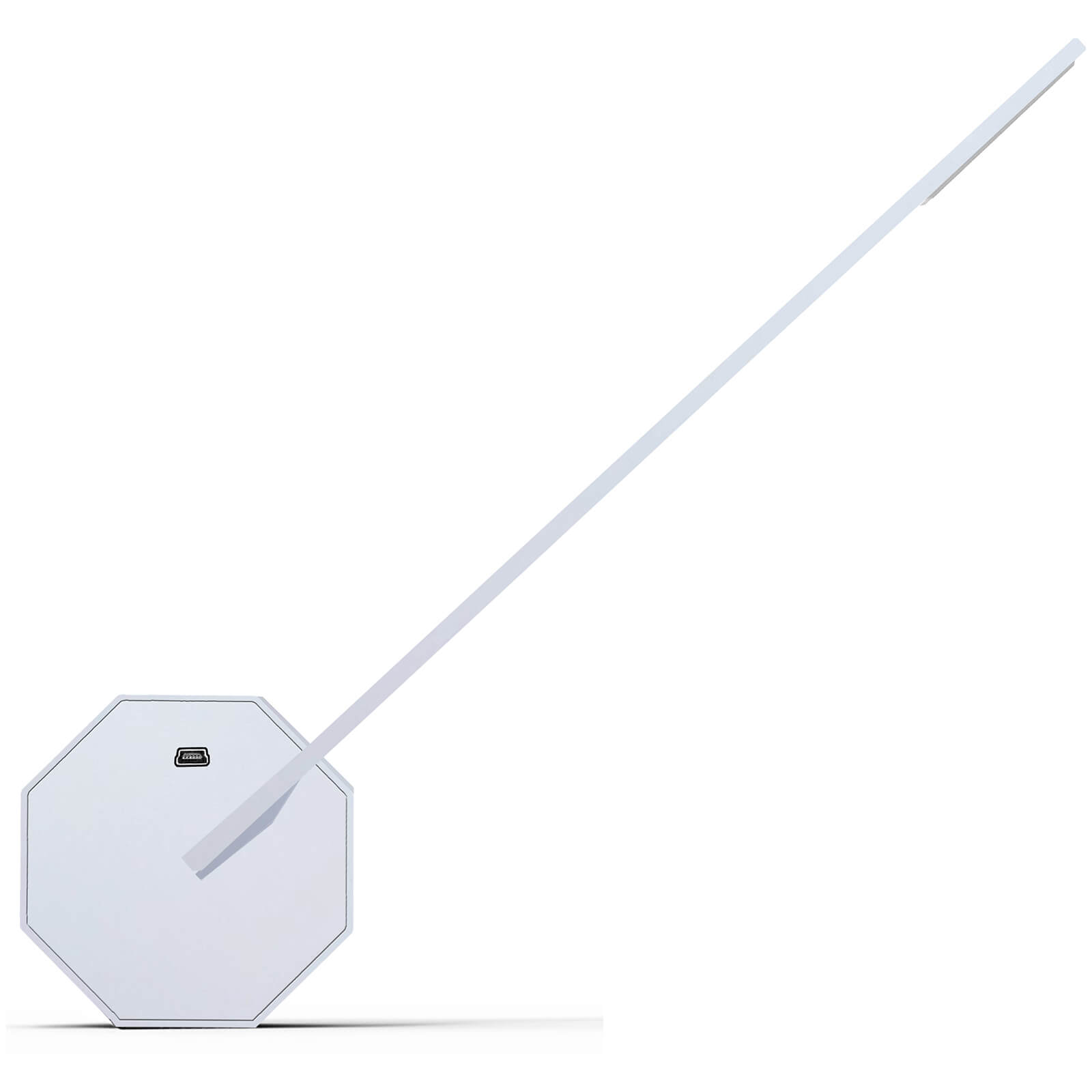 Gingko Octagon One Desk Light - White