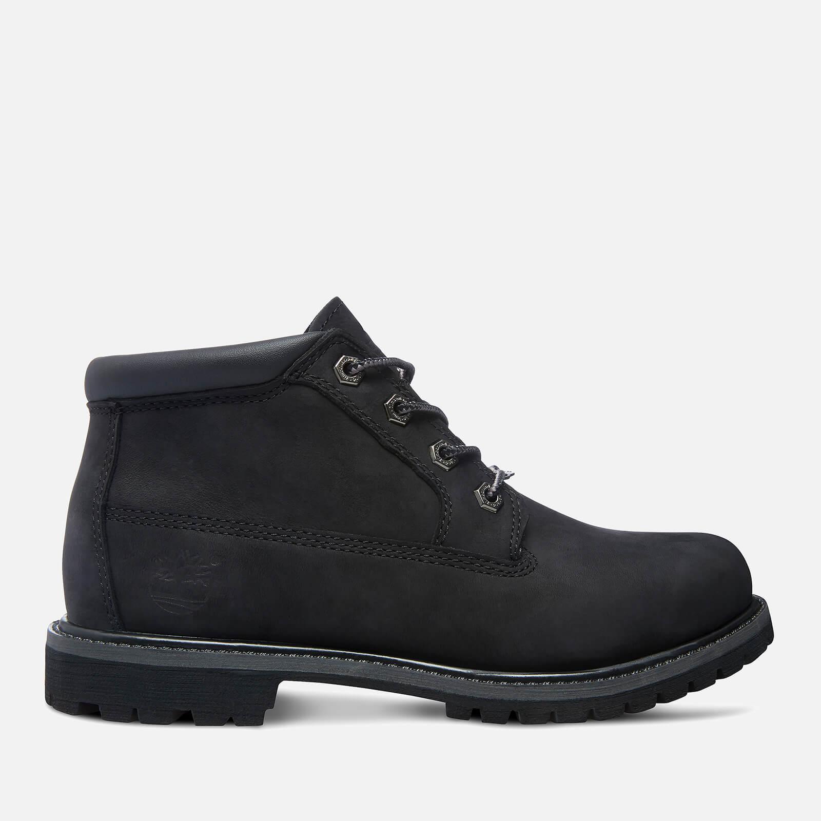Timberland Women's Nellie Double Leather Chukka Boots - Black - UK 5