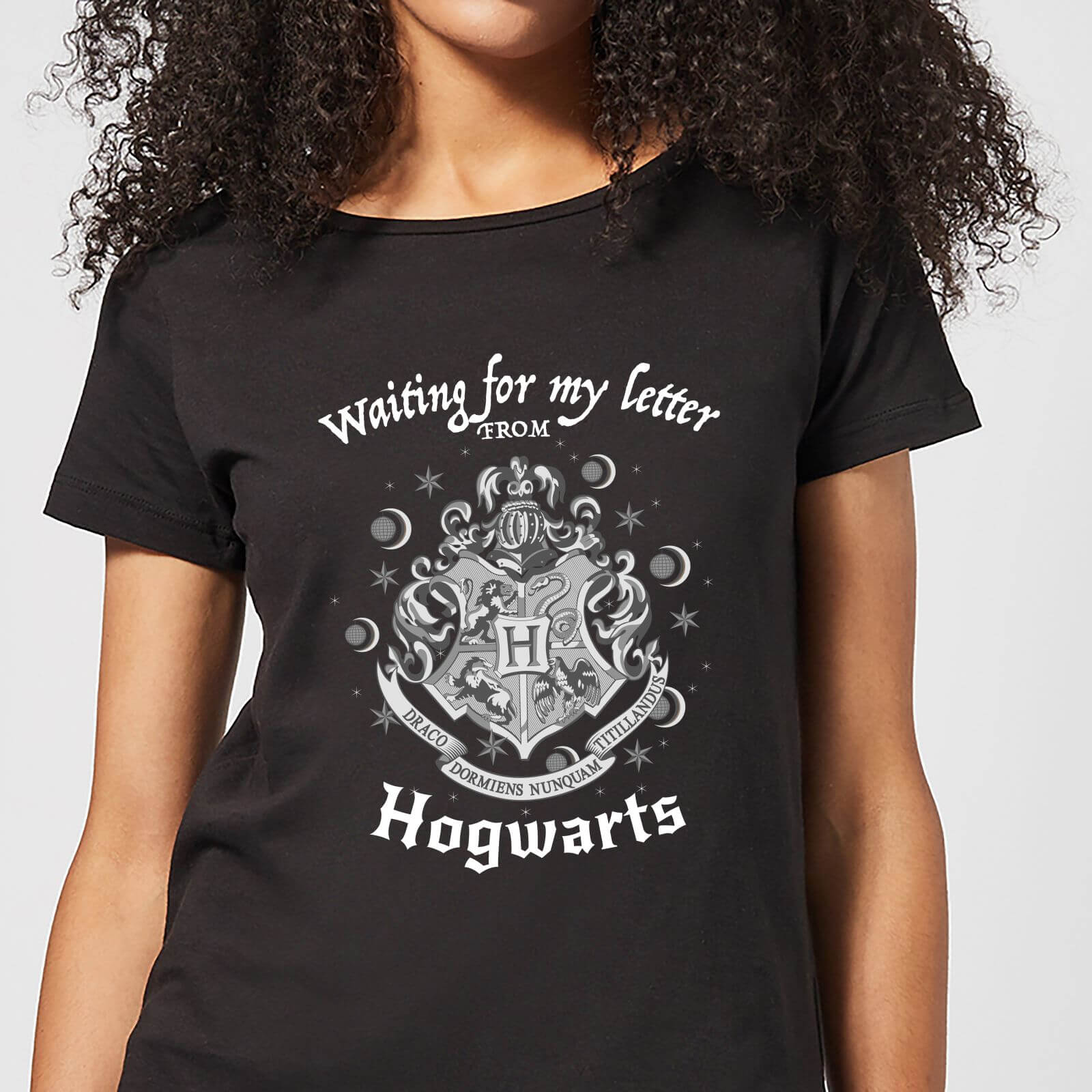 9184b9aff Harry Potter Waiting For My Letter From Hogwarts Women's T-Shirt - Black |  IWOOT