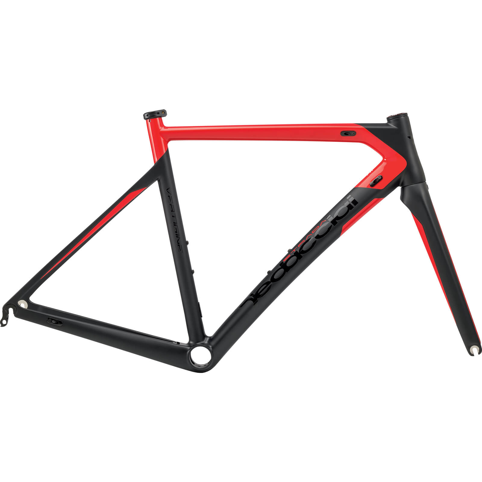 Dedacciai Vertigine Frameset - Black/Red