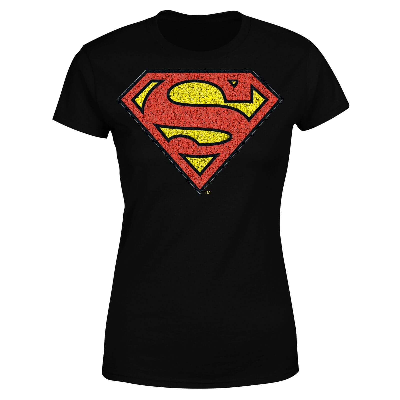 DC Originals Official Superman Crackle Logo Women
