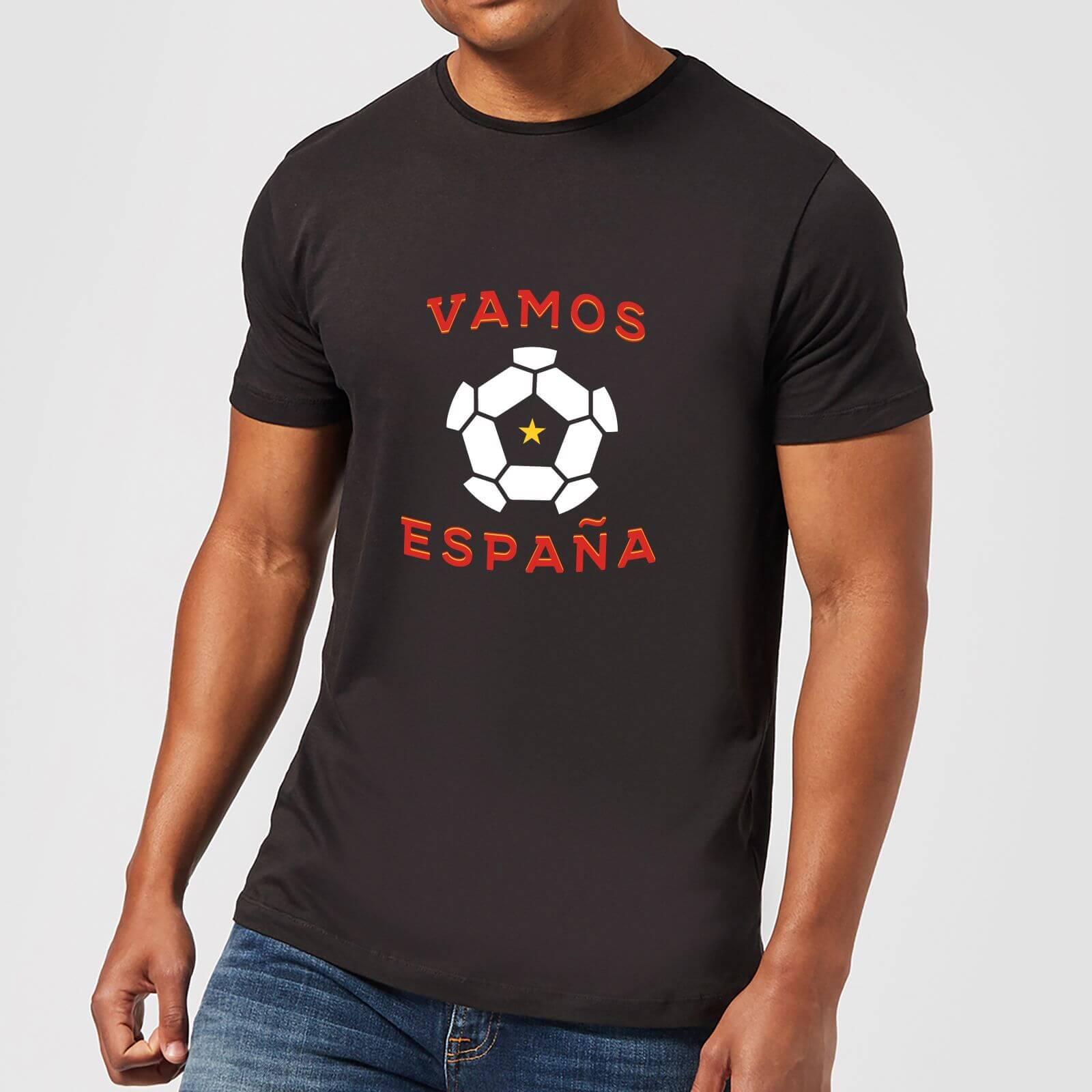 a95a73bec2 Vamos Espana Men s T-Shirt - Black Clothing