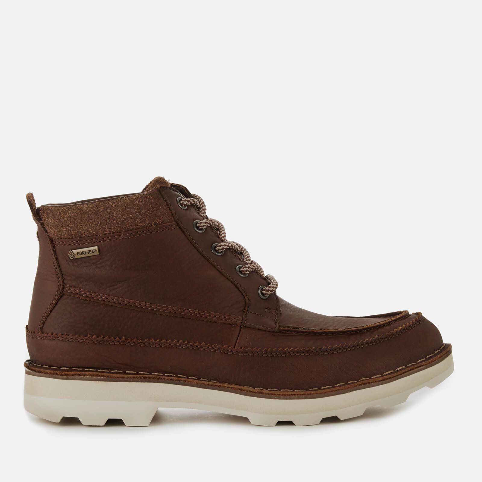 017d0fb3a5d Clarks Men's Korik Rise GORE-TEX Leather Lace Up Boots - British Tan Mens  Footwear | TheHut.com