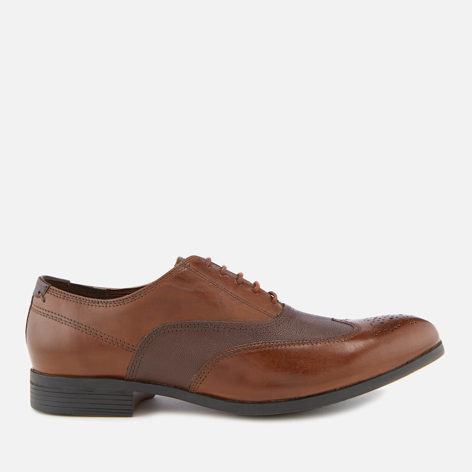 ef31100fd51 Clarks Men s Gilmore Wing Leather Oxford Shoes - British Tan Combi ...