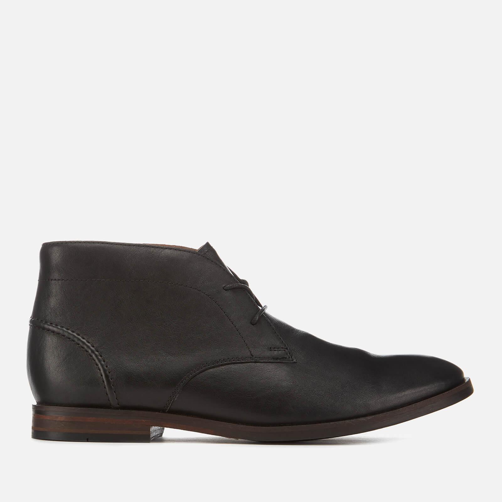 330cf145 Clarks Men's Glide Leather Chukka Boots - Black