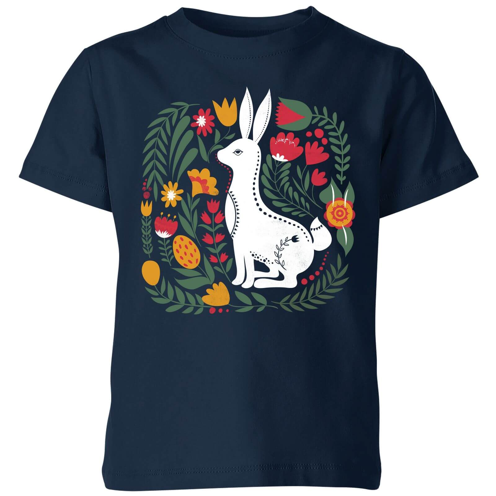 My Little Rascal Scandi Rabbit Pattern Kids