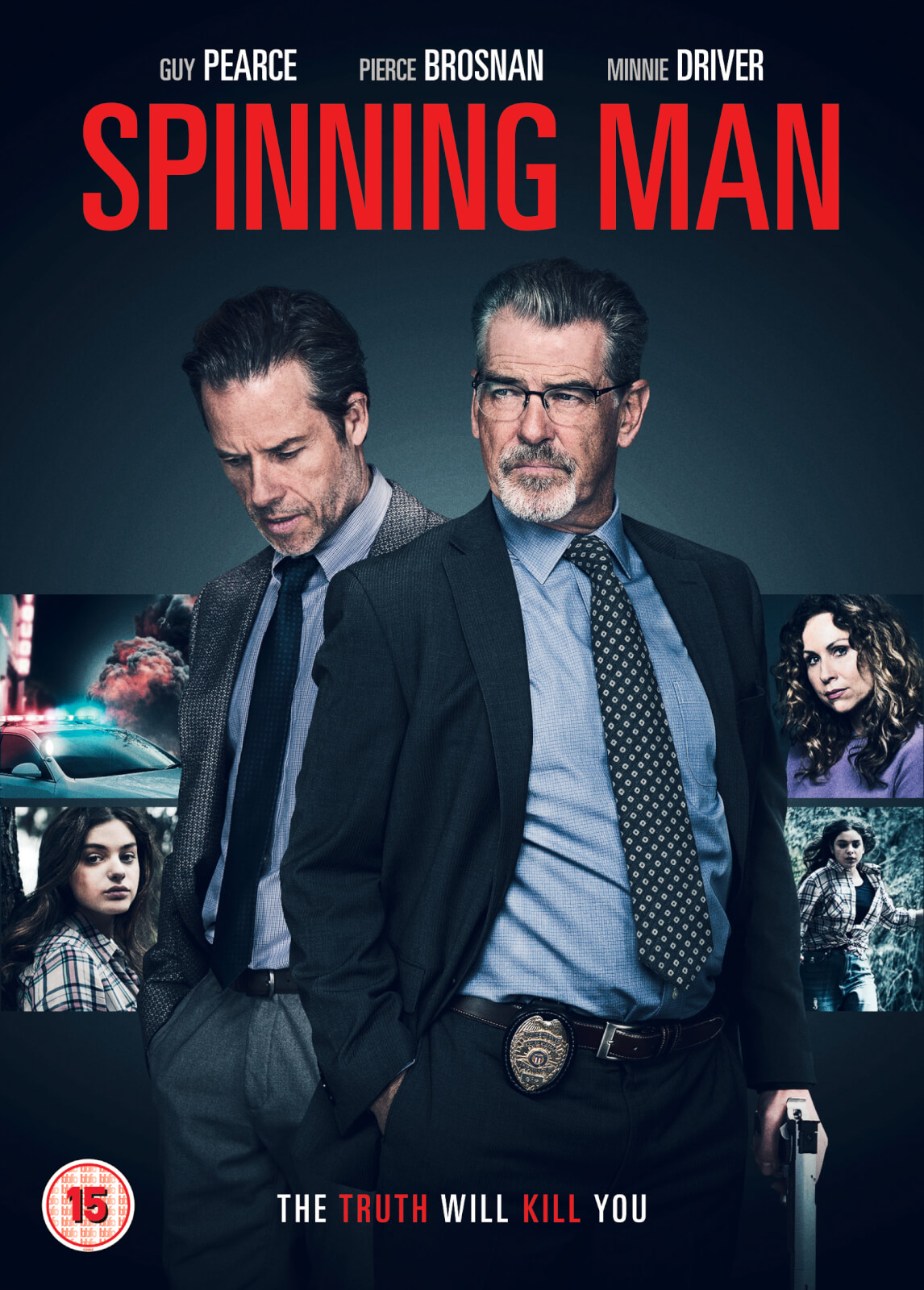 Spinning Man Dvd Zavvi