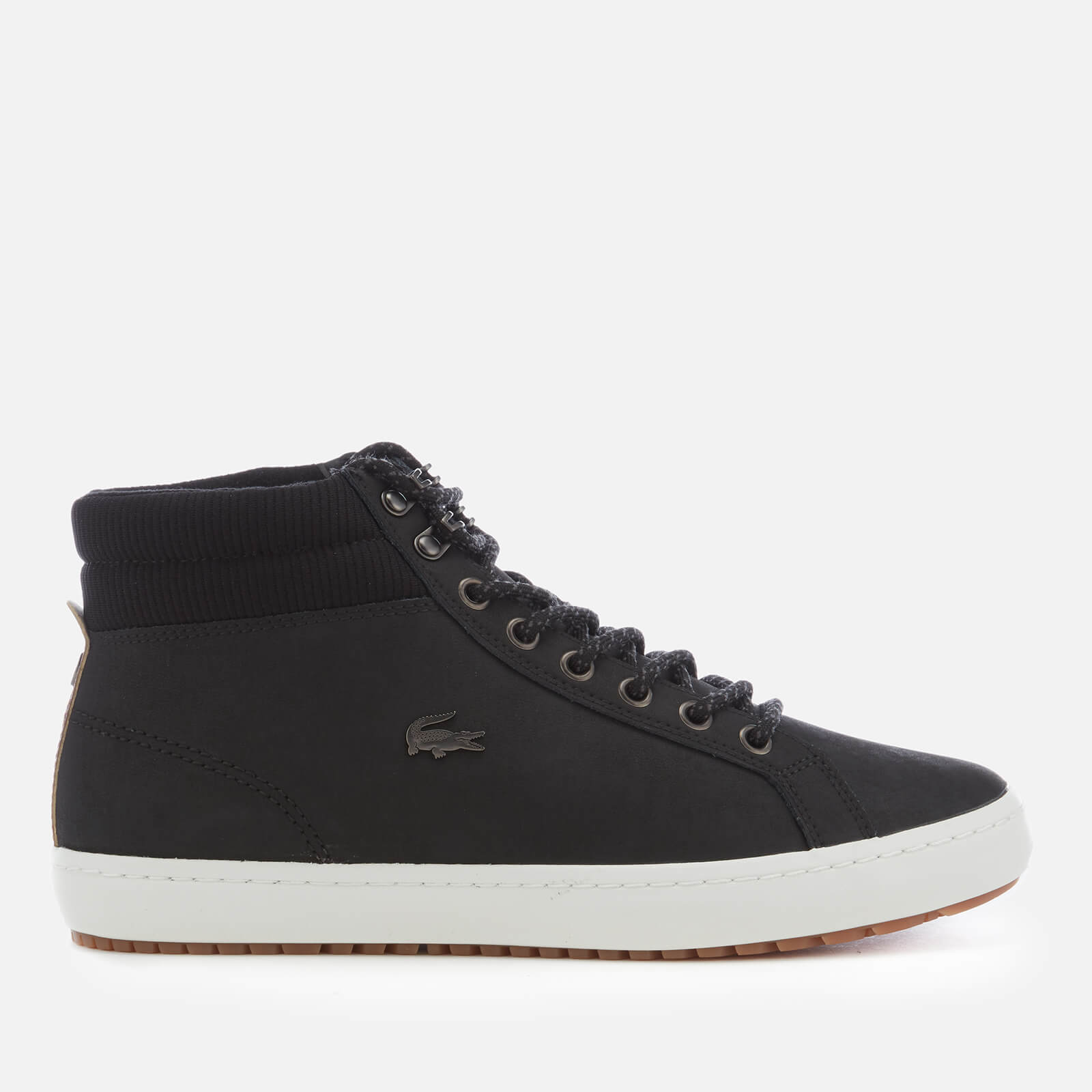 269274c2b ... Lacoste Men s Straightset Insulate C 318 1 Water Resistant Leather  Boots - Black Black