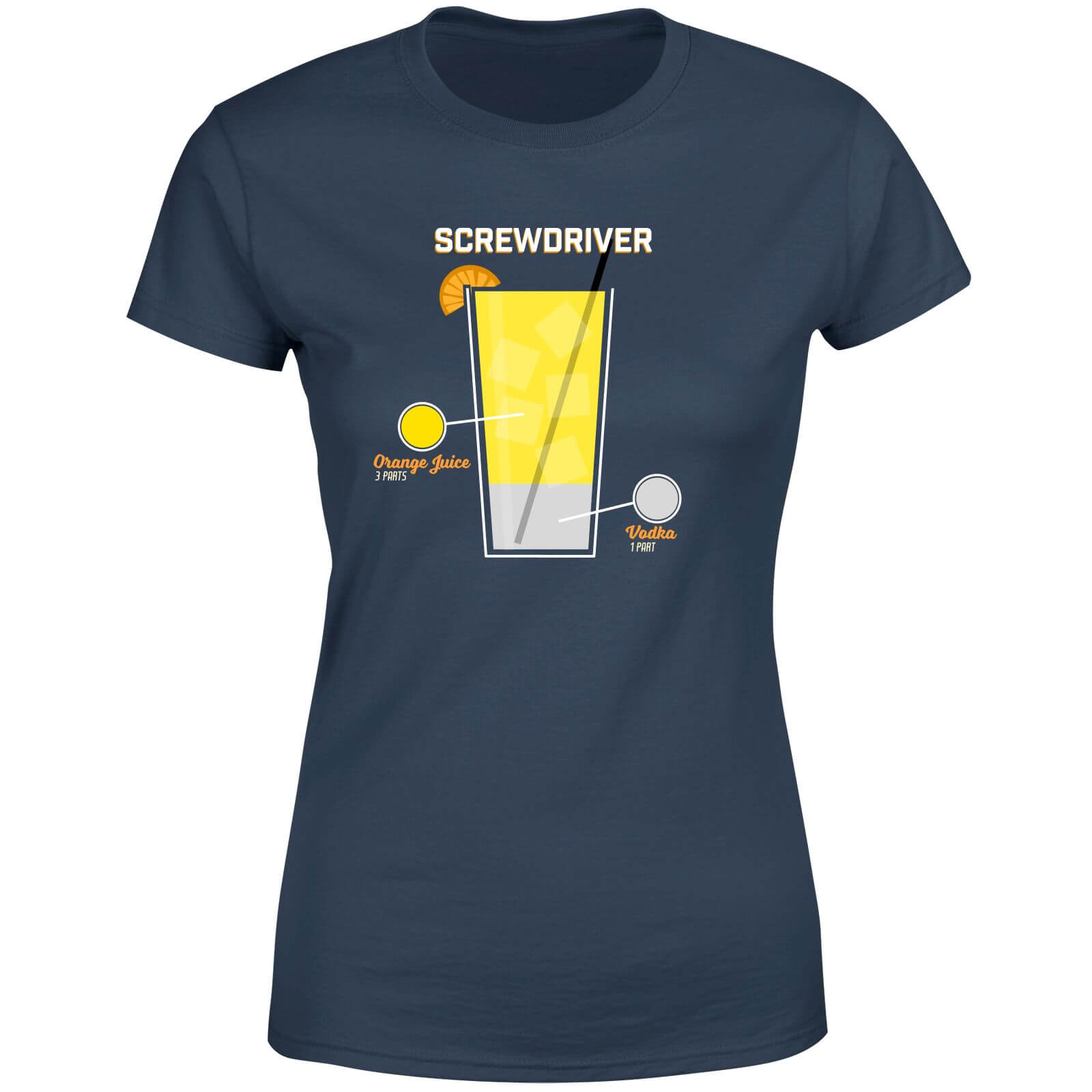 Infographic Screwdriver Women