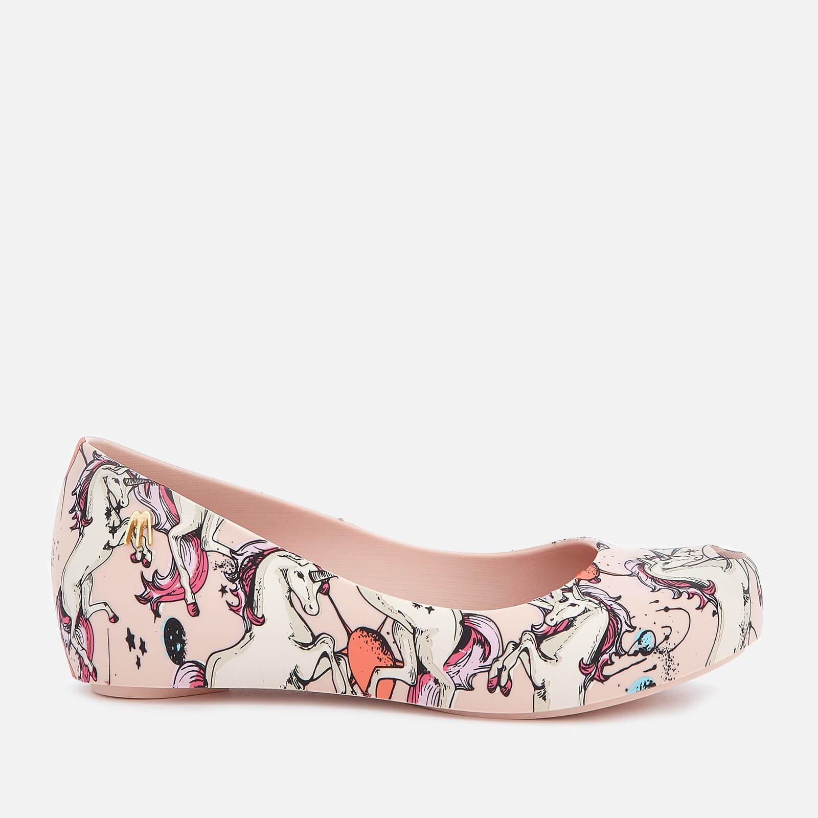 0b8b3ff8d7 Mini Melissa Kids' Ultragirl Fantasy 20 Ballet Flats - Blush Unicorn Junior  Clothing | TheHut.com
