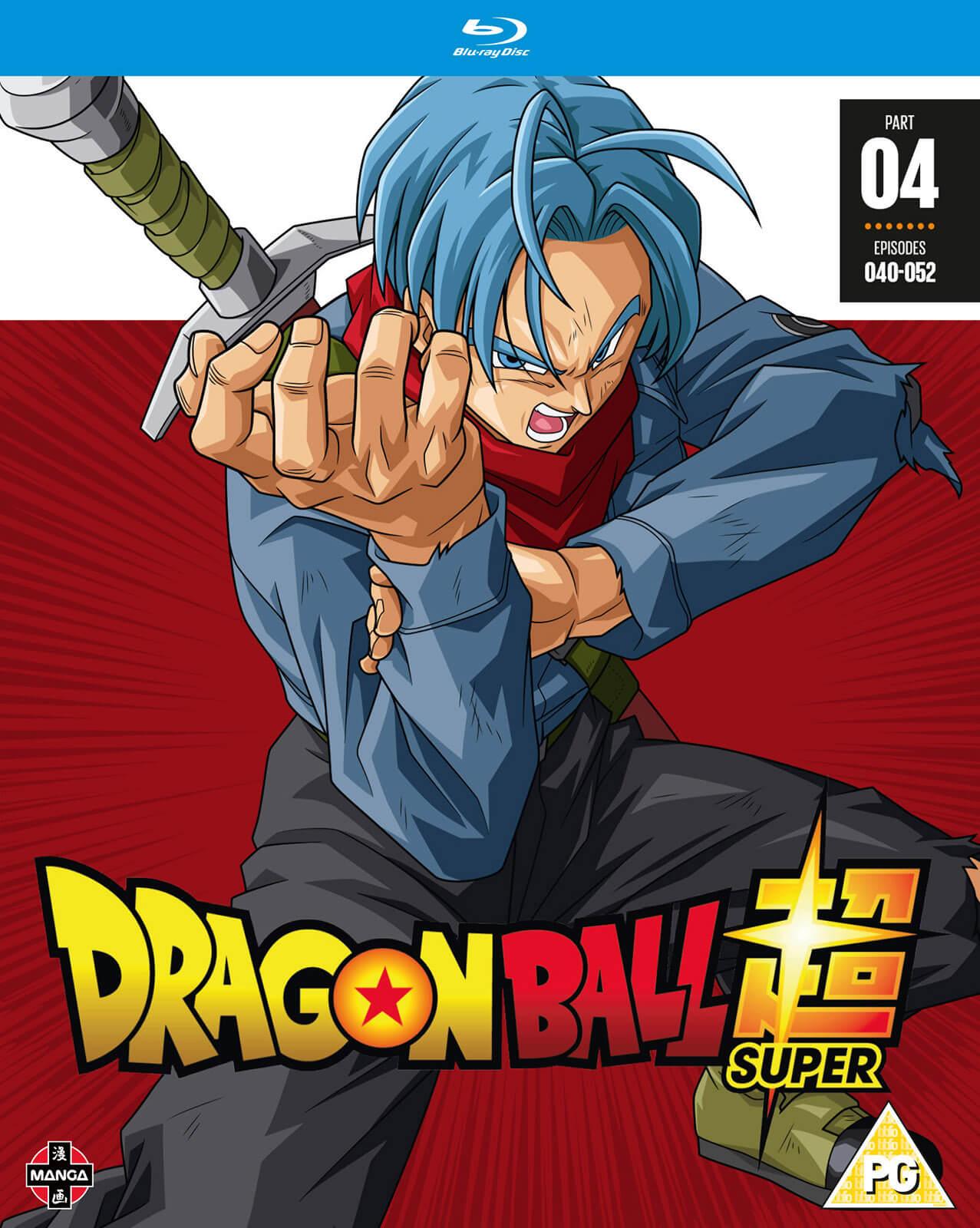 Gaming Kersttrui.Dragon Ball Super Part 4 Episodes 40 52 Blu Ray Zavvi