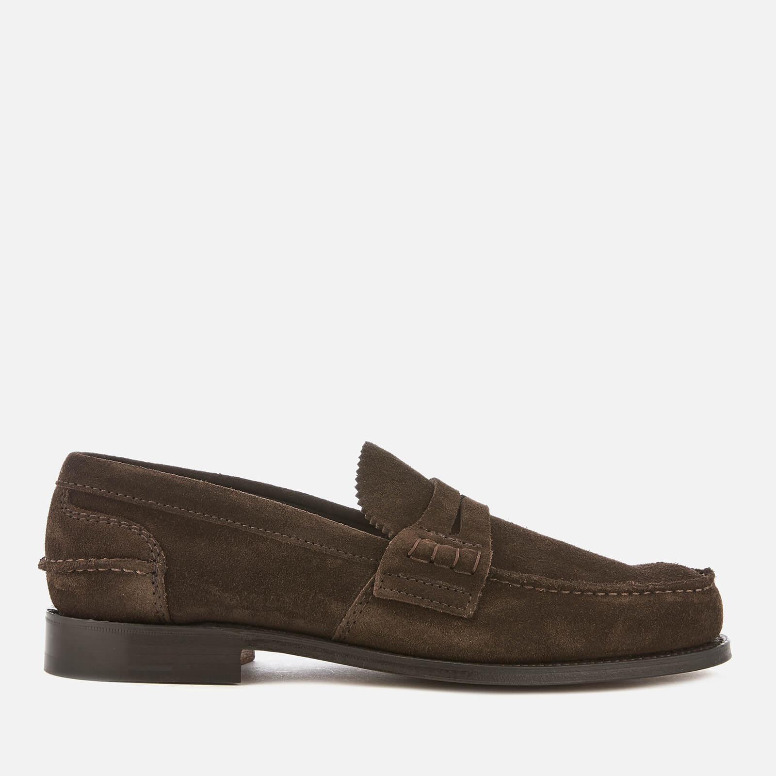 acc406044f4 Church s Men s Pembrey Suede Loafers - Brown - Free UK Delivery over £50