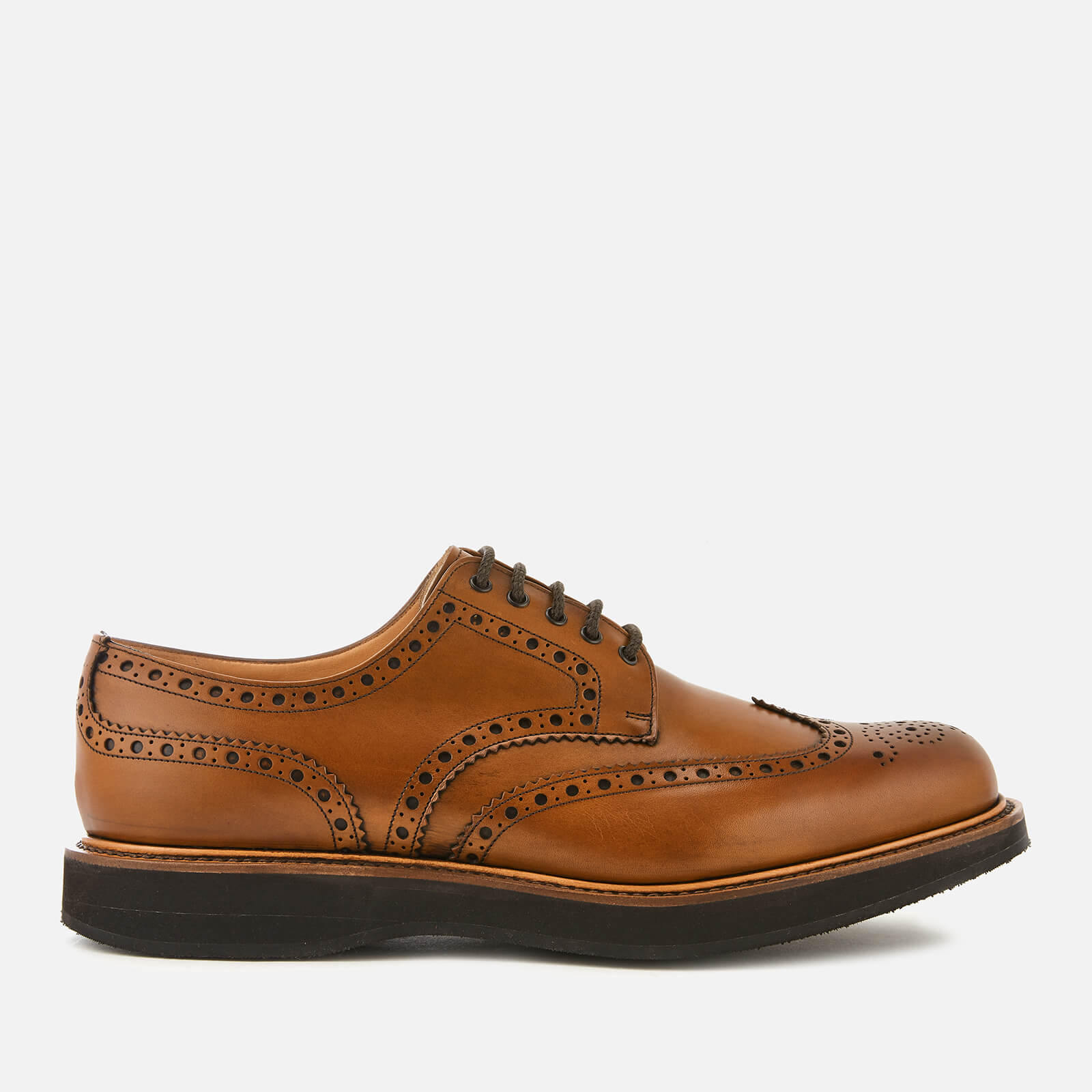 Chestnut Free Leather Tewin Men's Uk Delivery Church's Brogues UGLqSzMVp