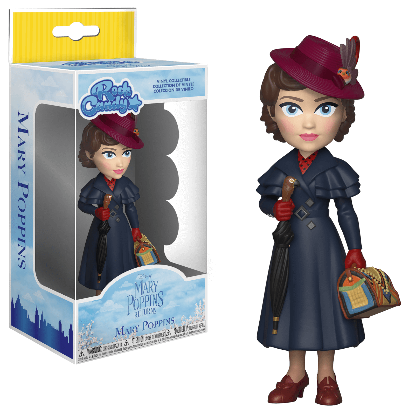 Mary Poppins Rock Candy Vinyl Figure Pop In A Box De