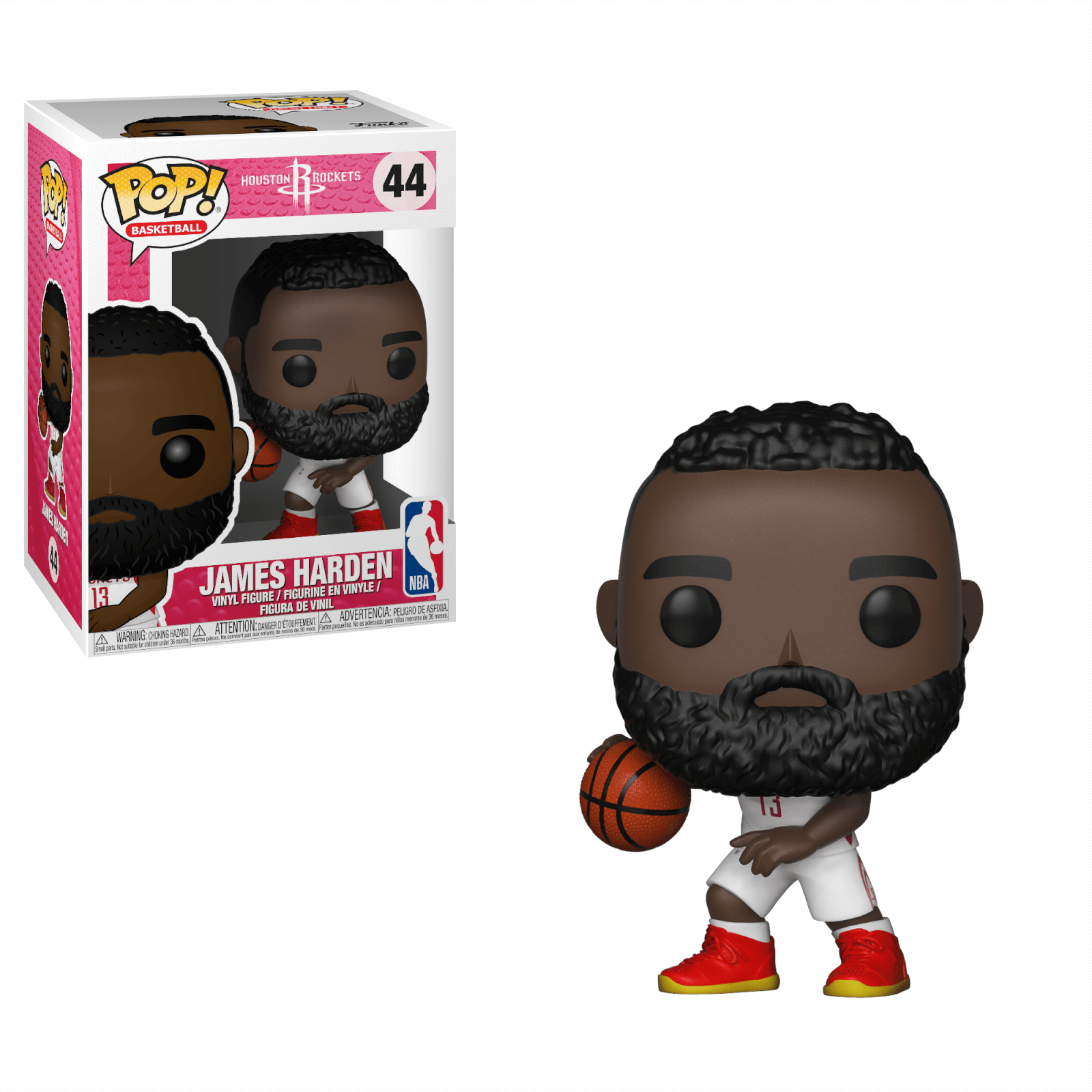 43cf5b033634 NBA Rockets James Harden Pop! Vinyl Figure
