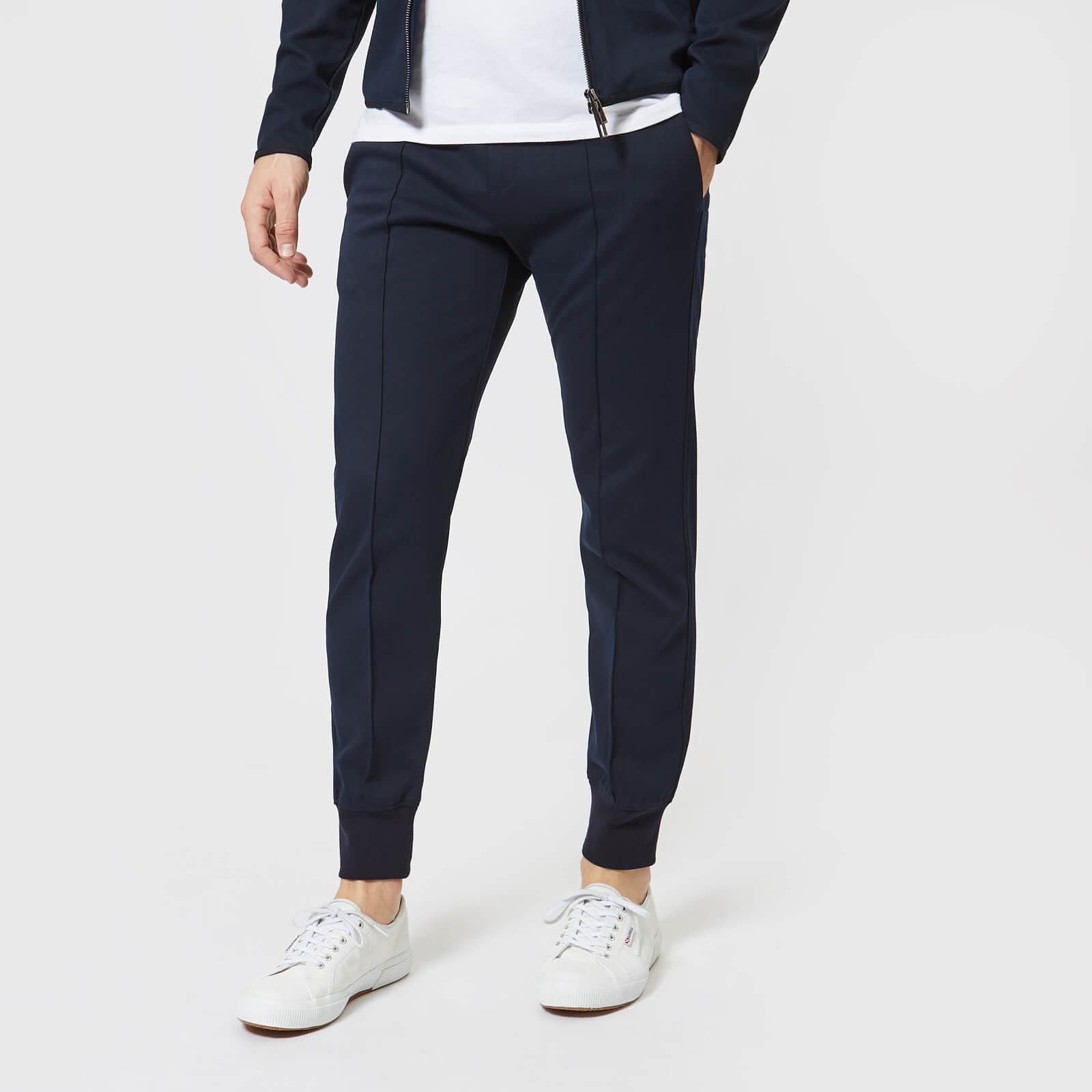 verkauf uk Shop für Beamte bester Wert Emporio Armani Men's Sports Jog Pants - Blue Navy