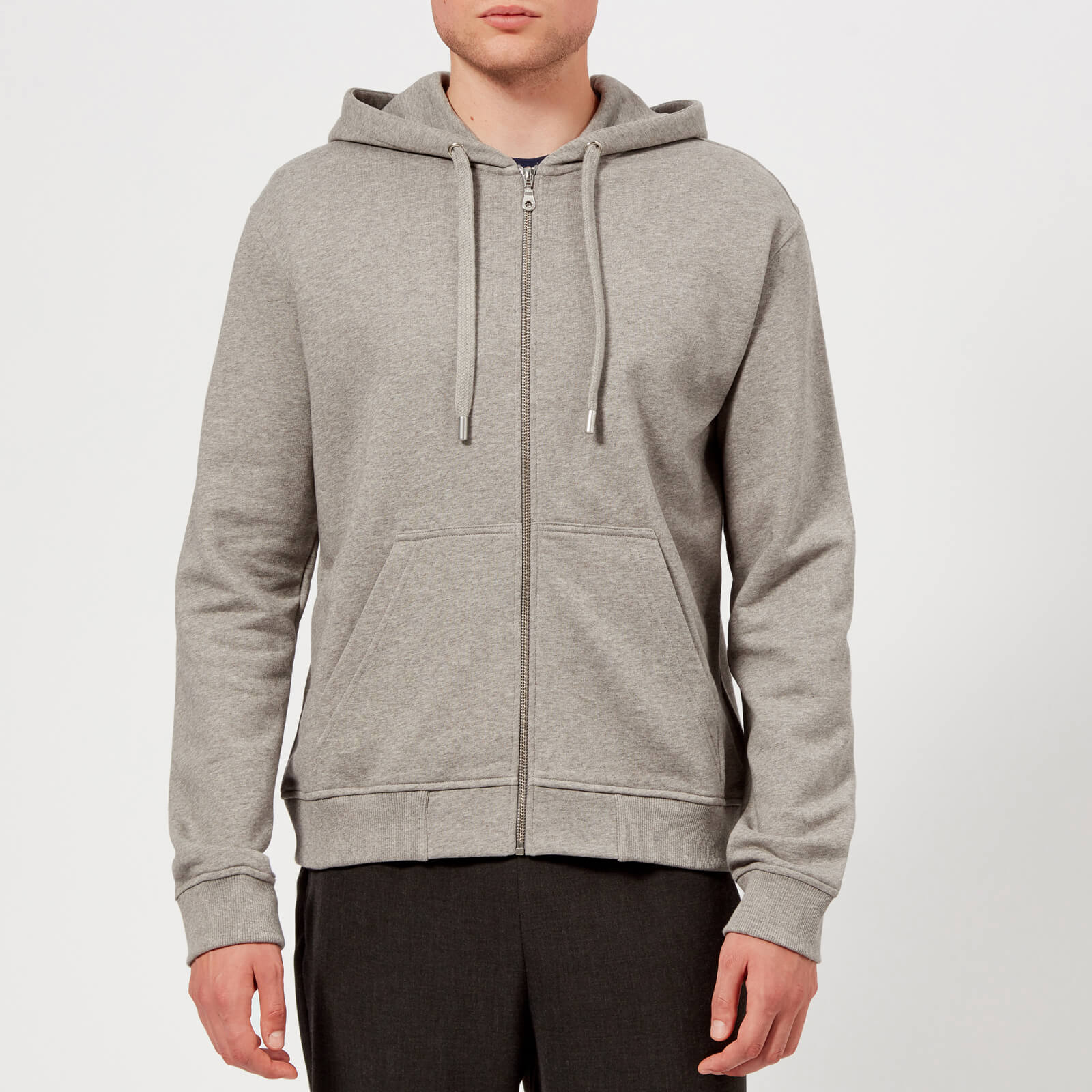 db00fab5511e KENZO Men s Reverse Tiger Zip Hoody - Dove Grey - Free UK Delivery over £50