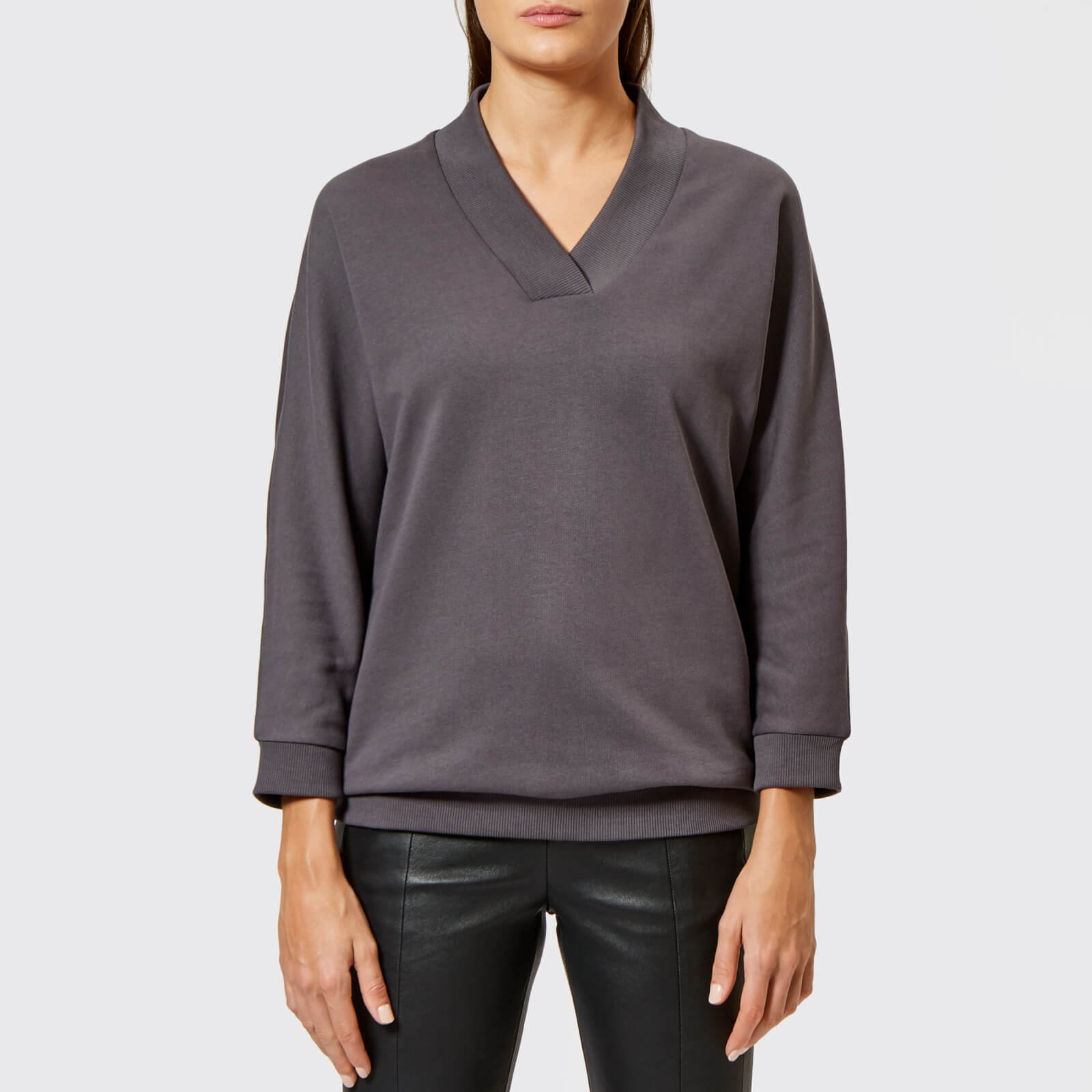 00c8611b KENZO Women's Light Cotton Molleton Sweatshirt - Grey - Free UK ...