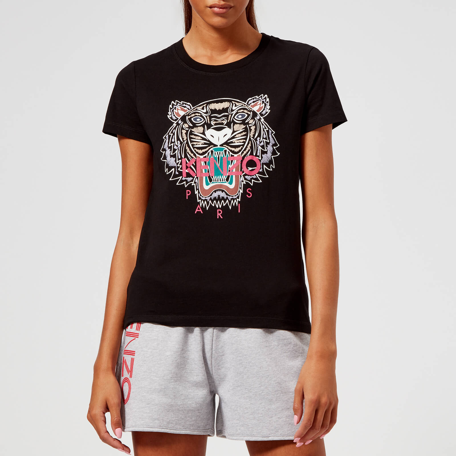 59ce502e KENZO Women's Classic Tiger Single T-Shirt - Black - Free UK Delivery over  £50