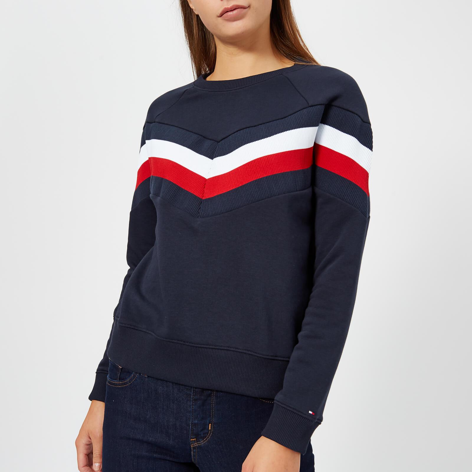 84620c3698479 Tommy Hilfiger Women s Faith Crew Neck Sweatshirt - Navy Womens Clothing