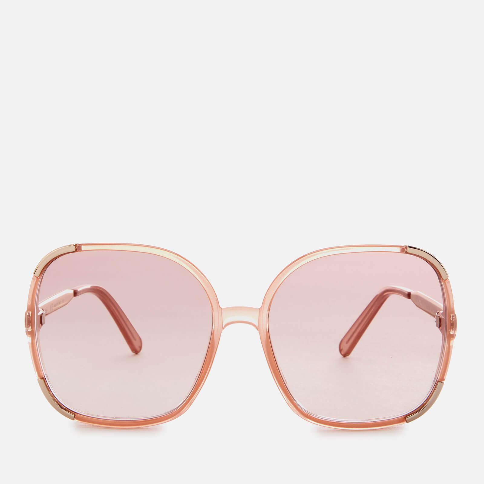 2e7fff44 Chloe Women's Myrte Square-Frame Acetate Sunglasses - Peach