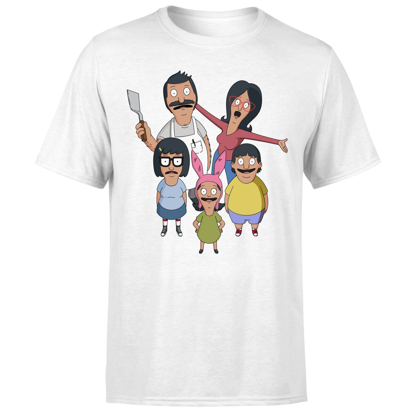 Bobs Burgers Family Looking Up Men
