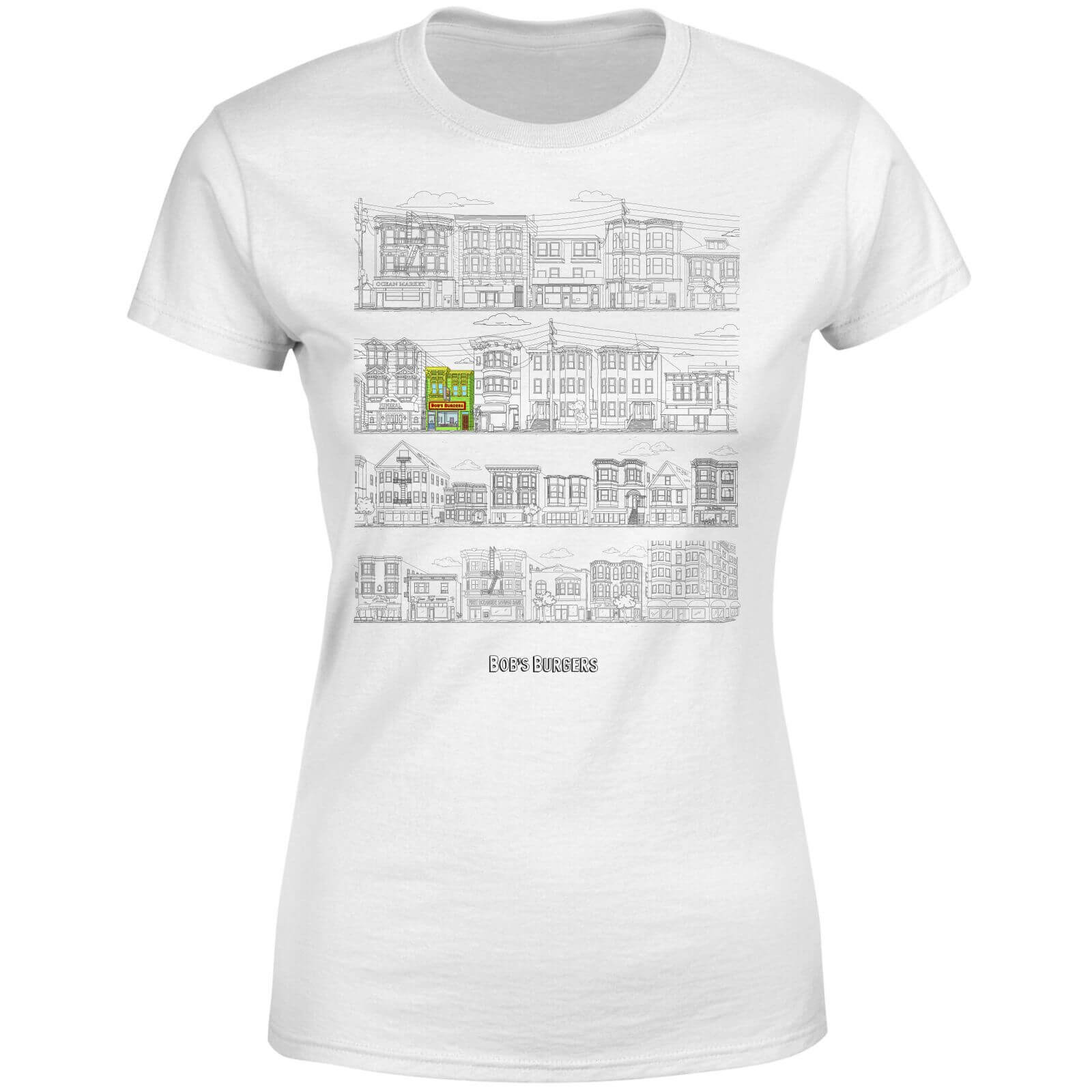 Bobs Burgers Street Plan Drawing Women