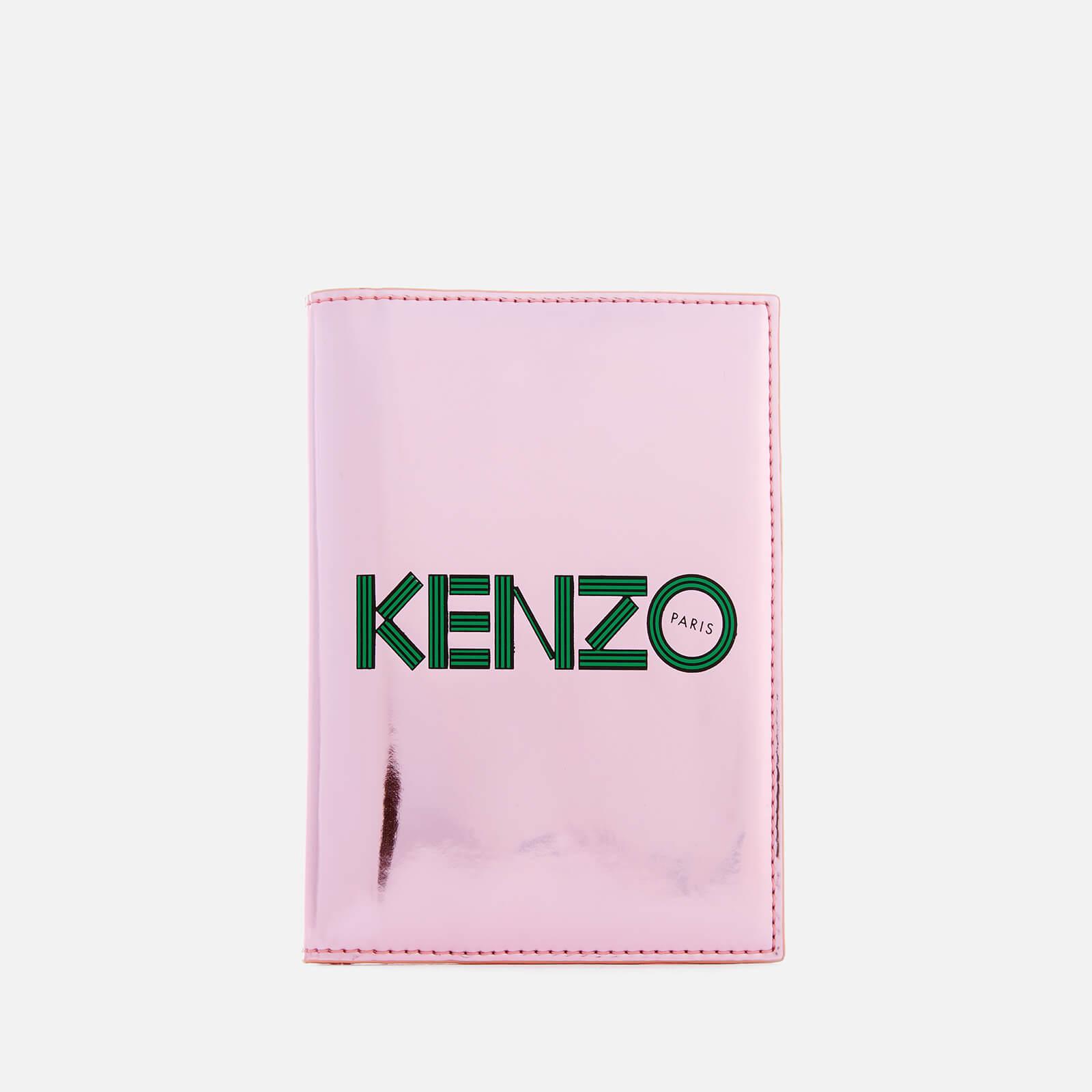 best loved 1b0f9 67103 KENZO Women's Logo Passport Holder - Faded Pink
