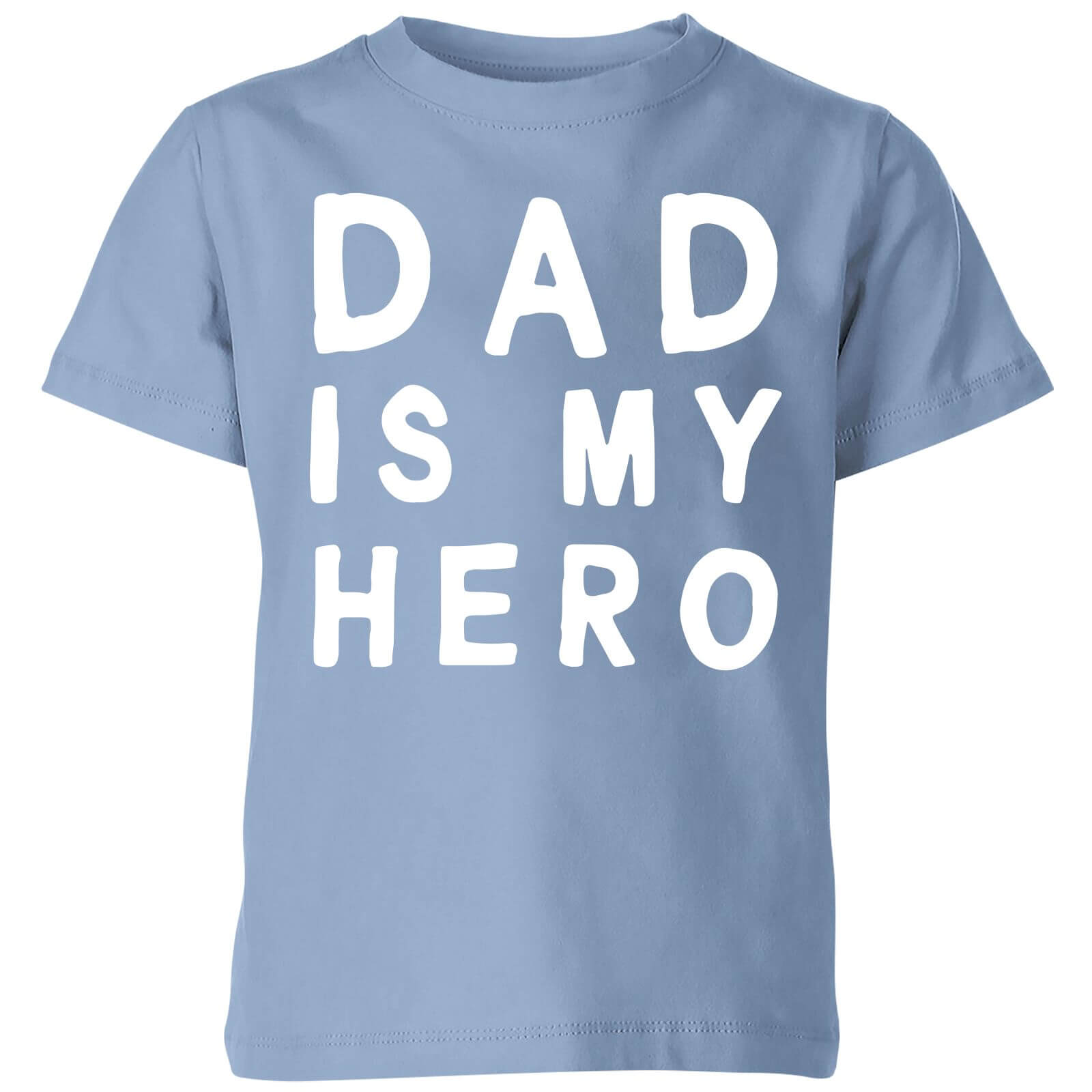 My Little Rascal Dad Is My Hero - Baby Blue Kids