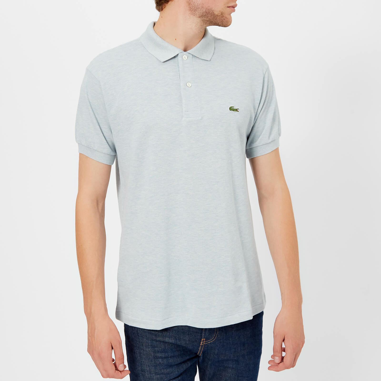 f4119173 Lacoste Men's Classic Fit Polo Shirt - Junk Blue Chine